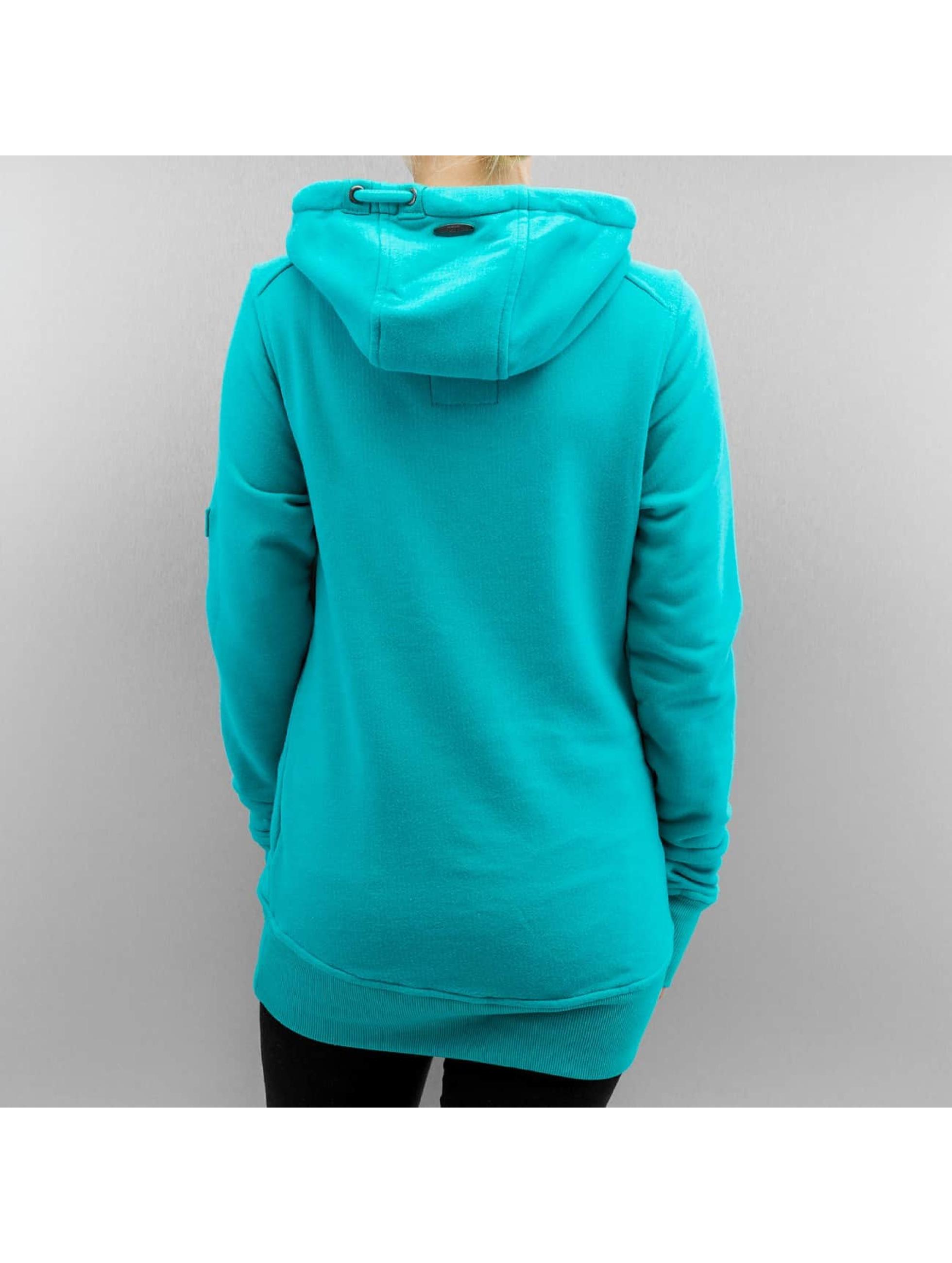 Alife & Kickin Sweat capuche Sarah A turquoise