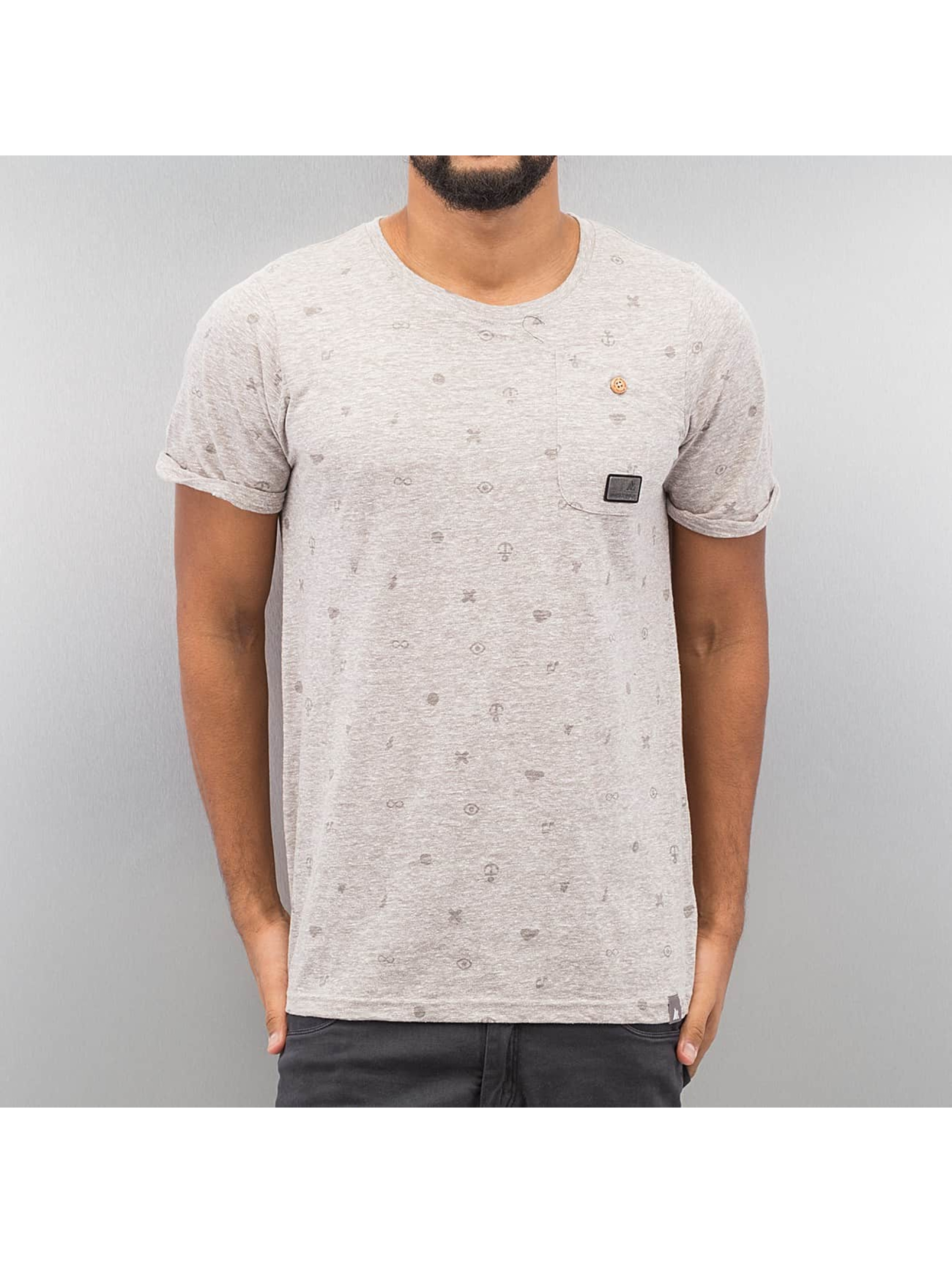Alife & Kickin T-shirt Vin grå