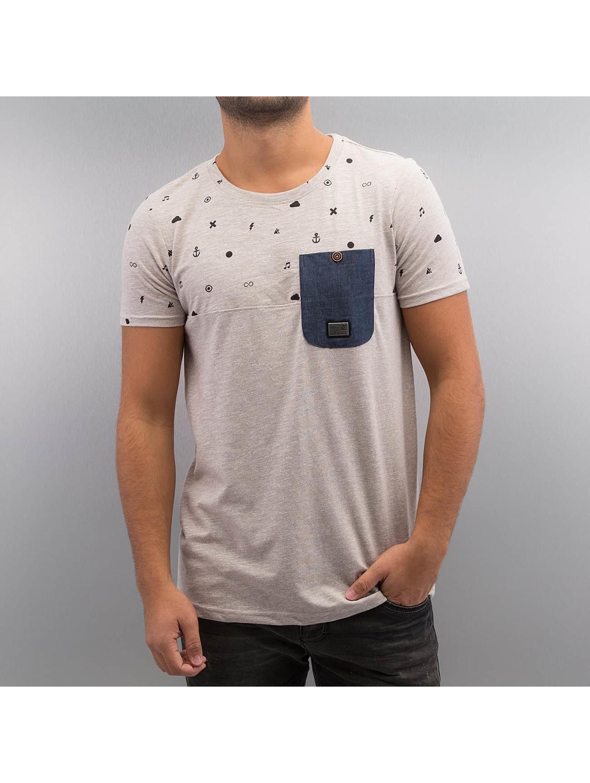 Alife & Kickin T-Shirt Vin B gris