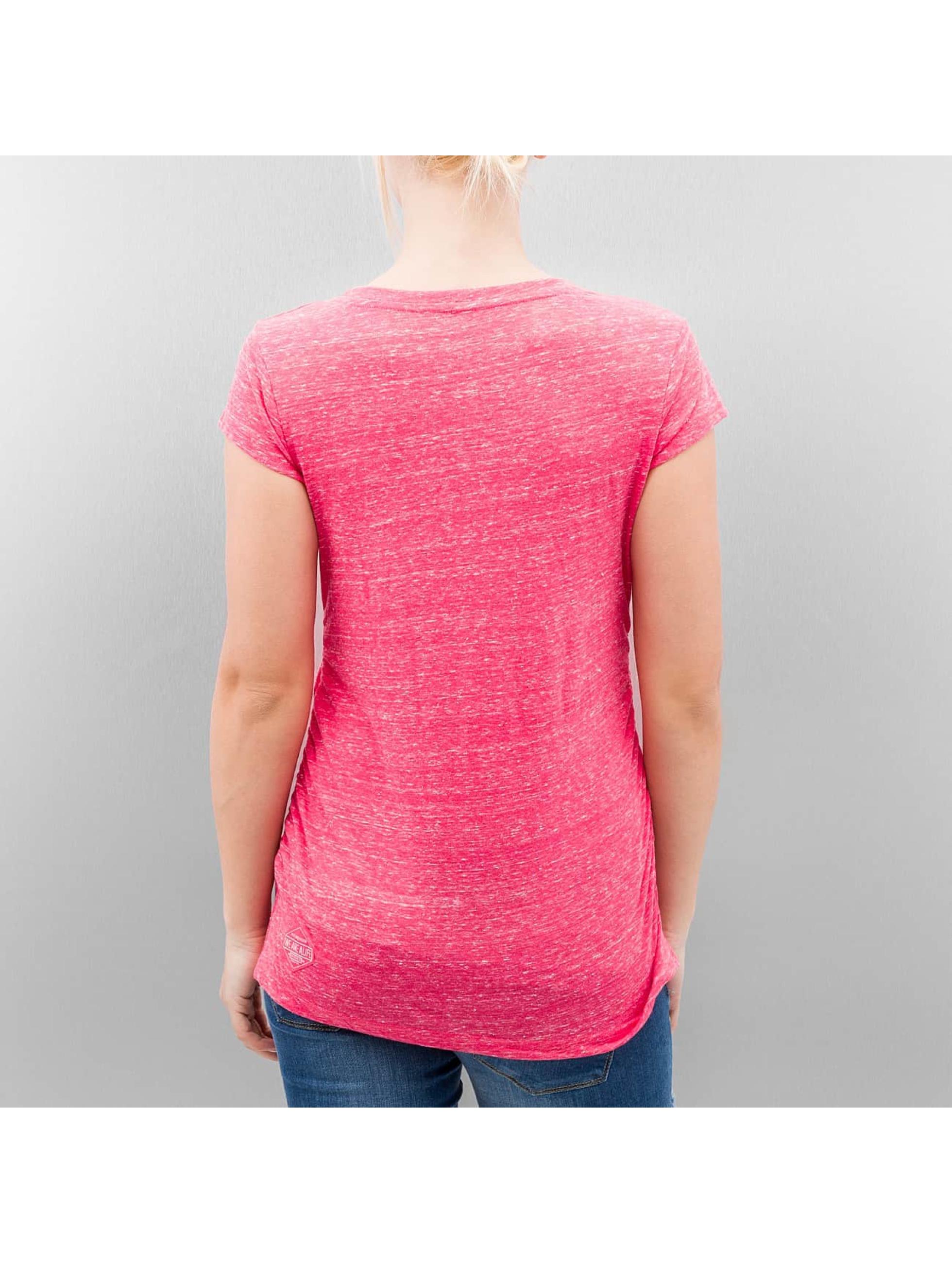 Alife & Kickin T-Shirt Lilly magenta