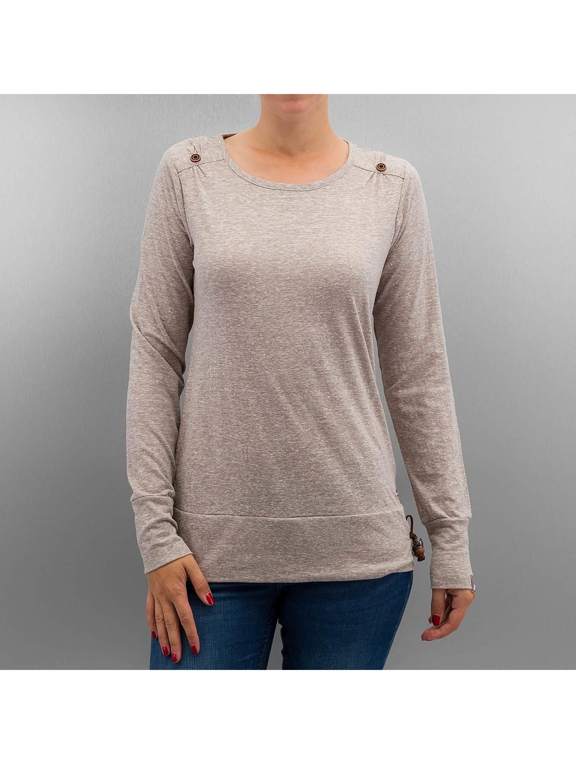 Alife & Kickin T-Shirt manches longues Leonie gris