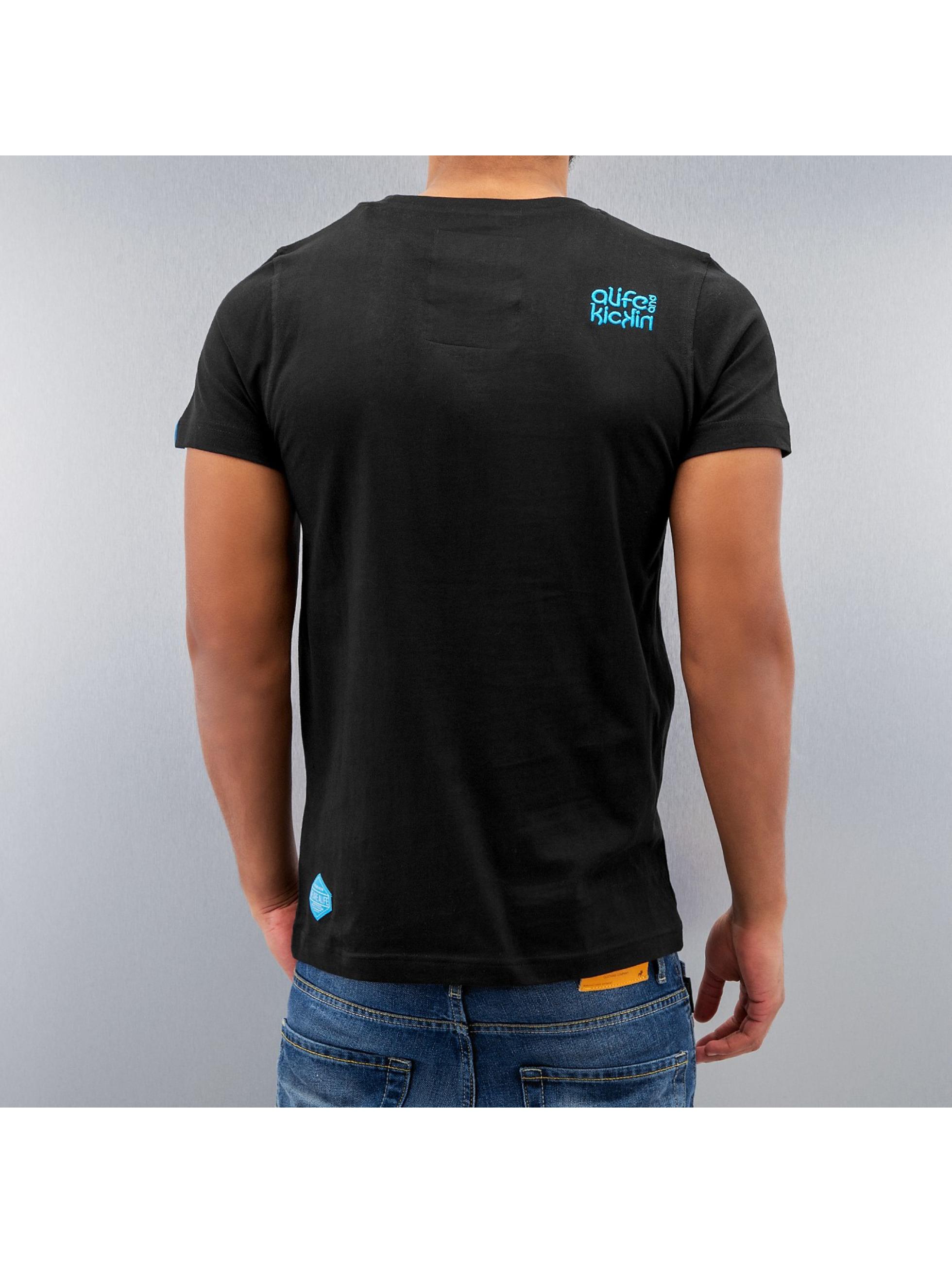 Alife & Kickin T-Shirt Gerry schwarz
