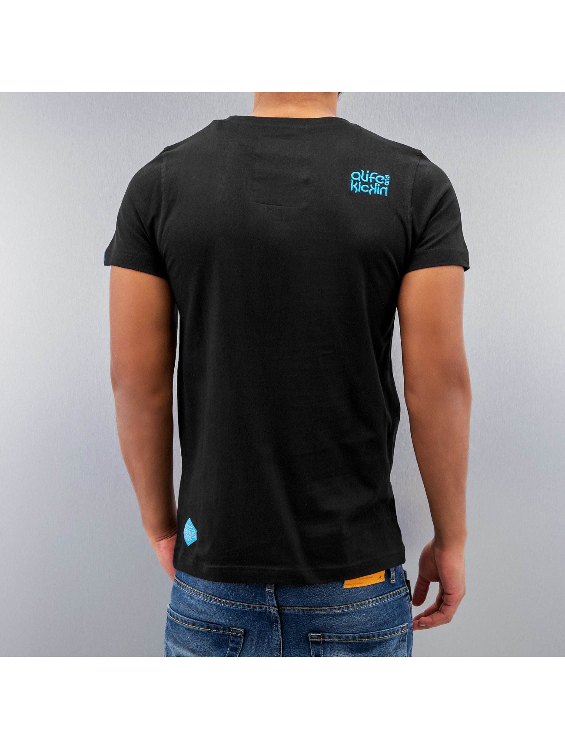 Alife & Kickin t-shirt Gerry zwart