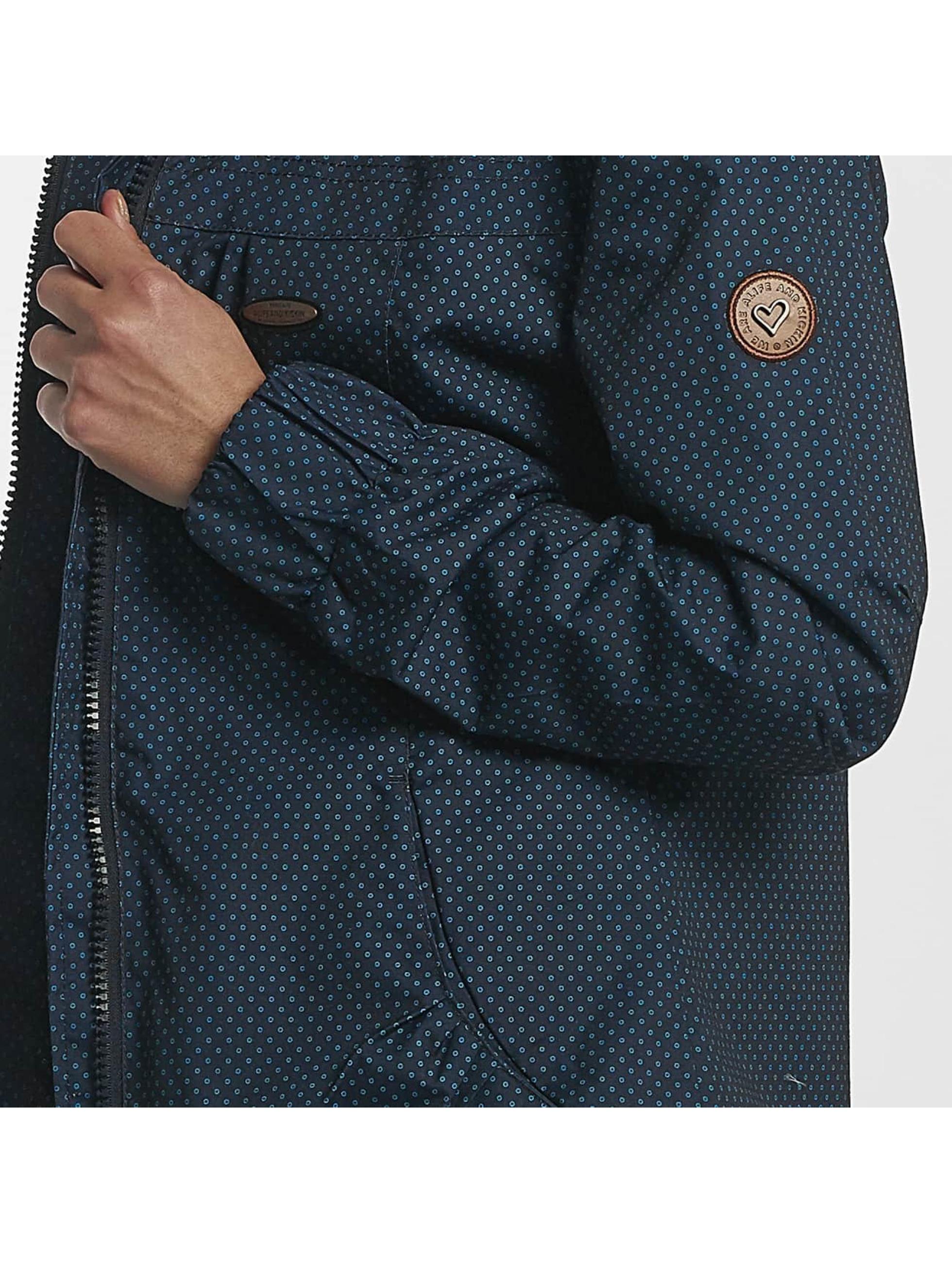 Alife & Kickin Transitional Jackets Black Mamba A blå