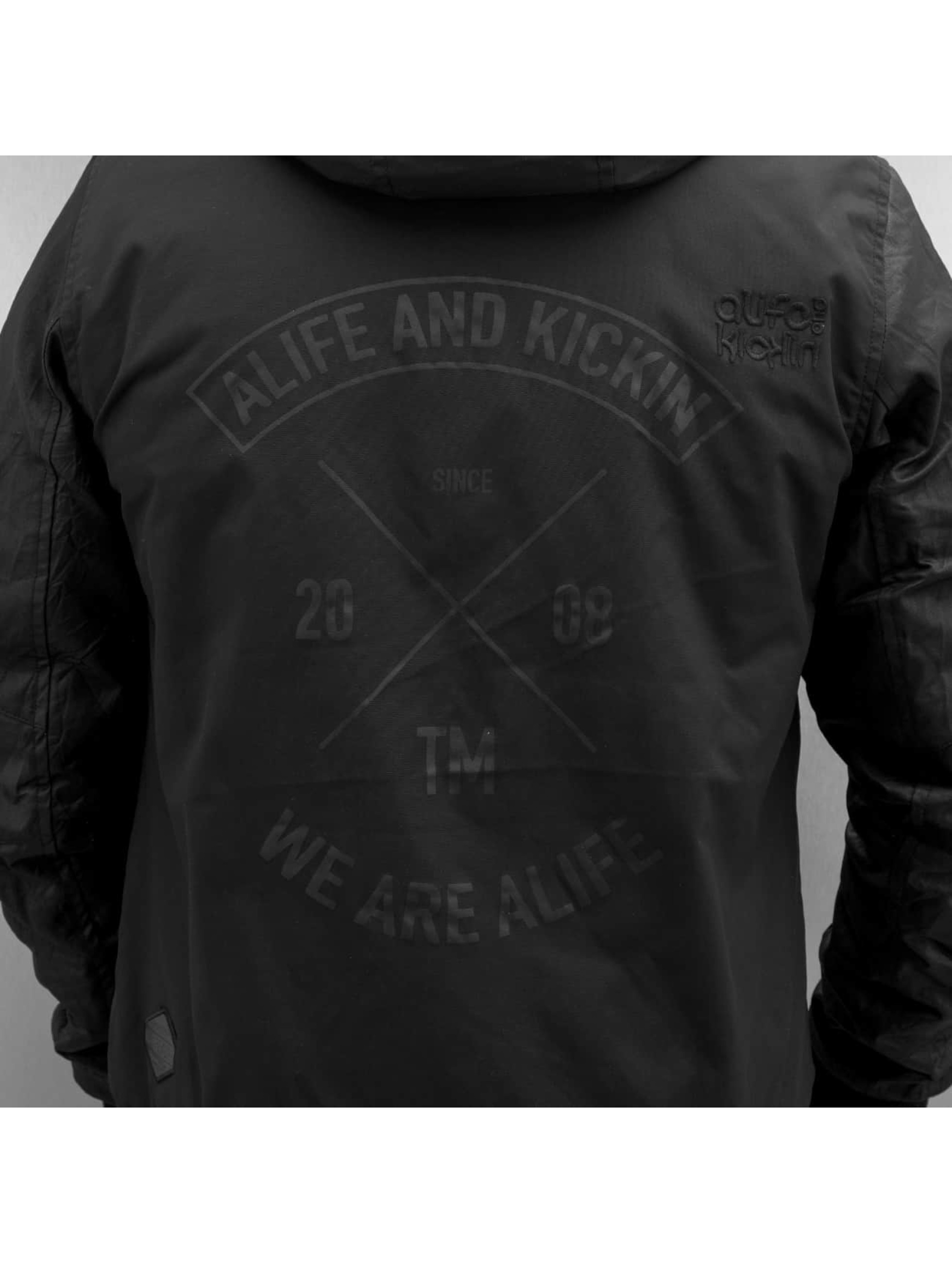 Alife & Kickin Winterjacke Don Esteban grau