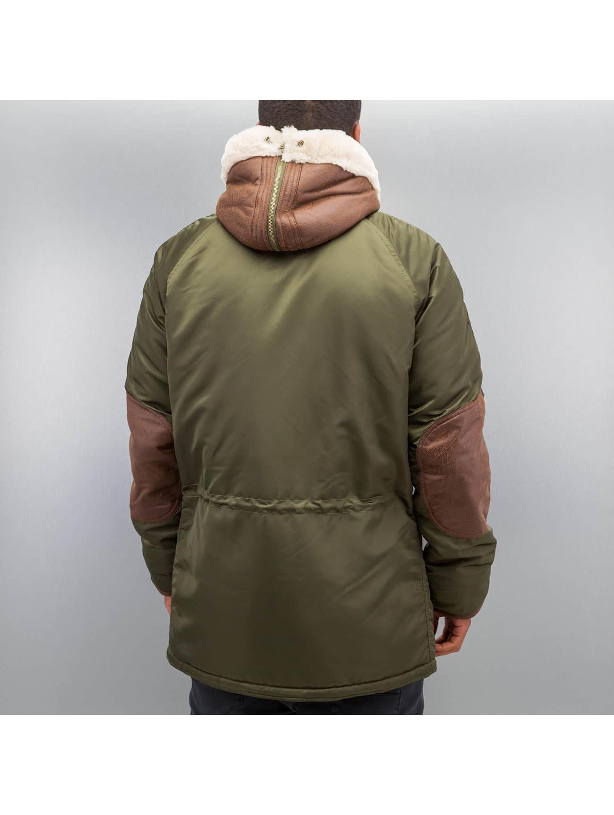 Alpha Industries Зимняя куртка N3-B3 зеленый