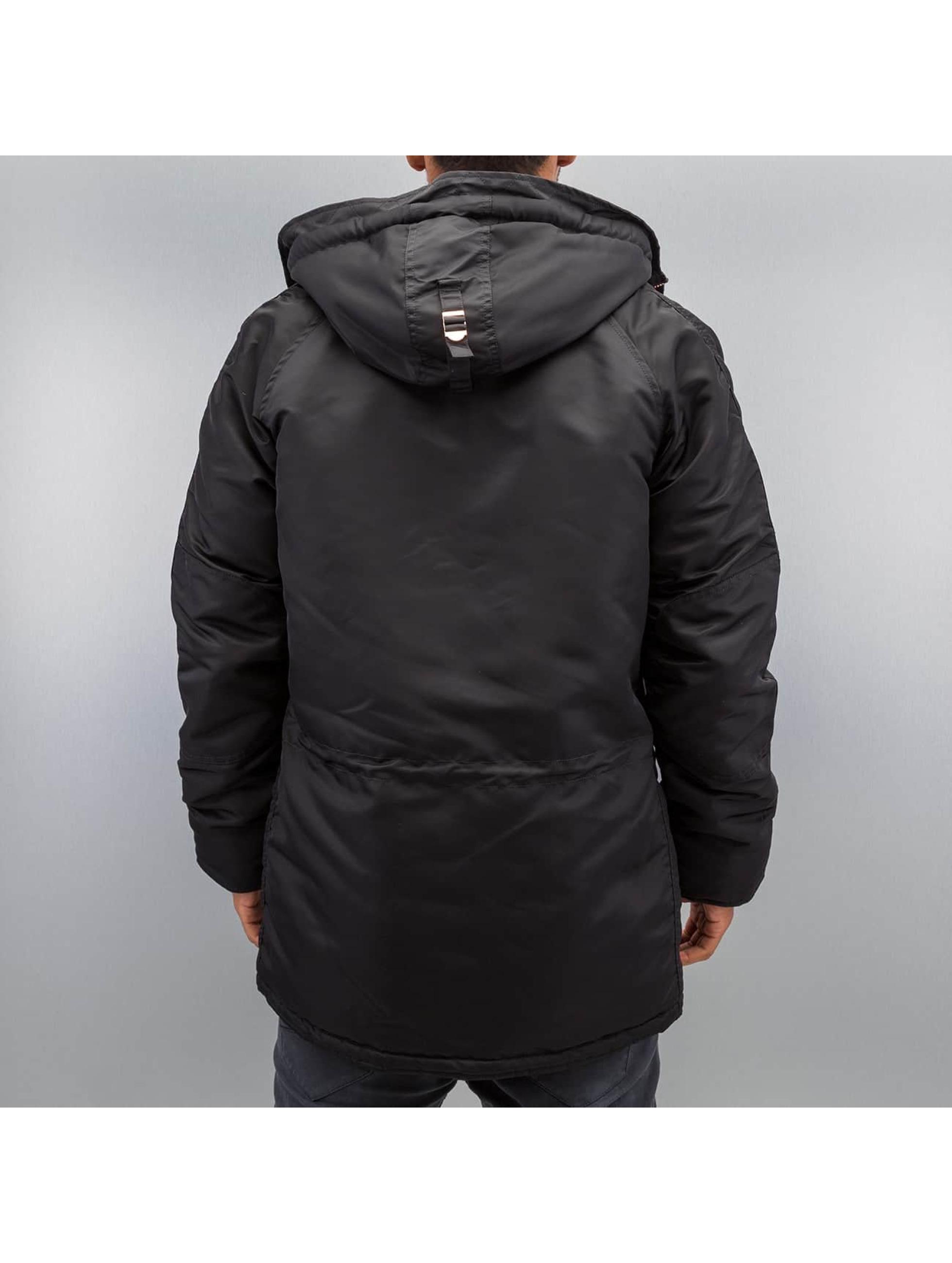 Alpha Industries Зимняя куртка N3-B PM черный