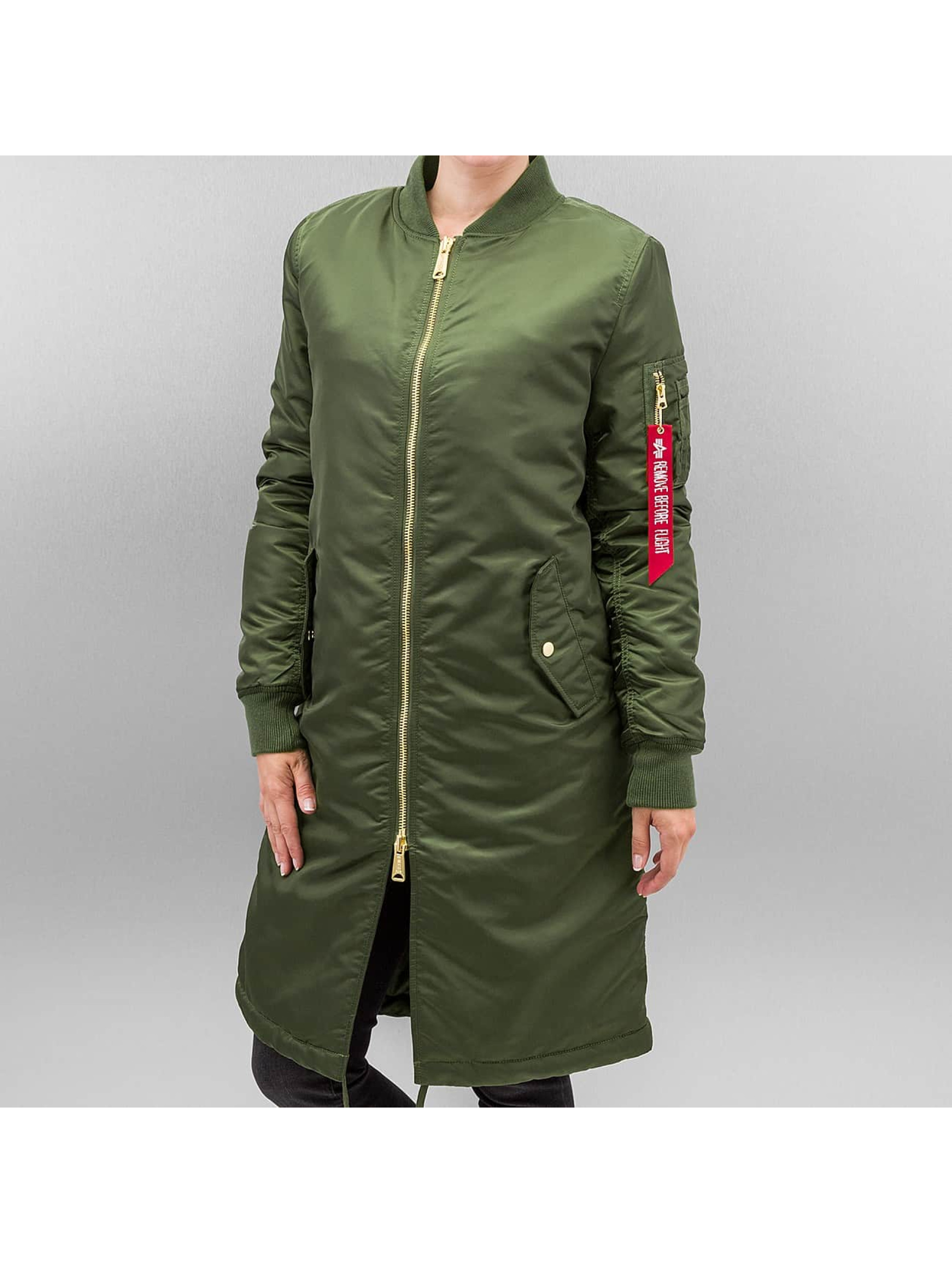 Alpha Industries Куртка-бомбардир MA-1 Coat B3 зеленый