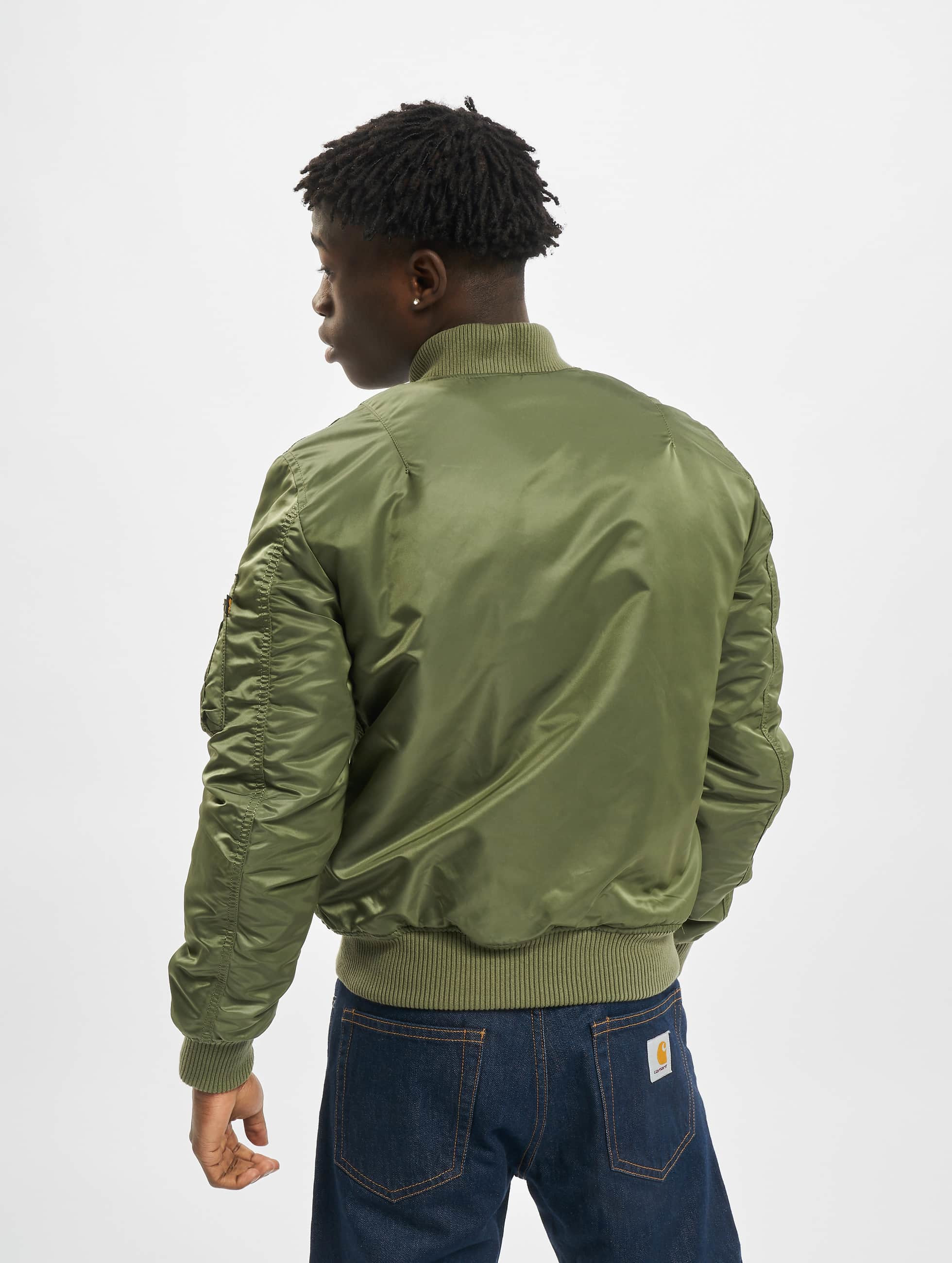 Alpha Industries Куртка-бомбардир Ma 1 Vf 59 оливковый