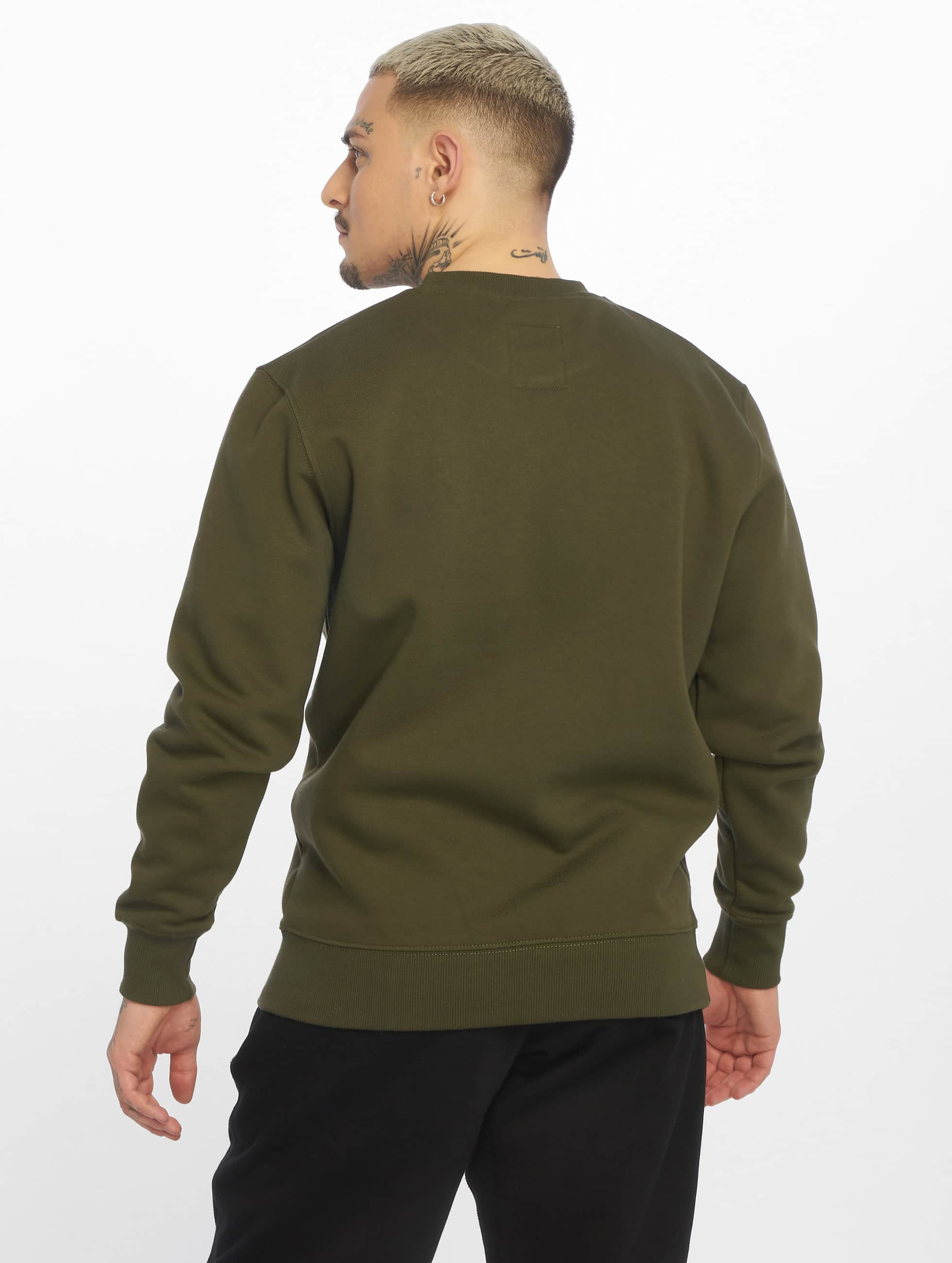 Alpha Industries Пуловер Basic зеленый