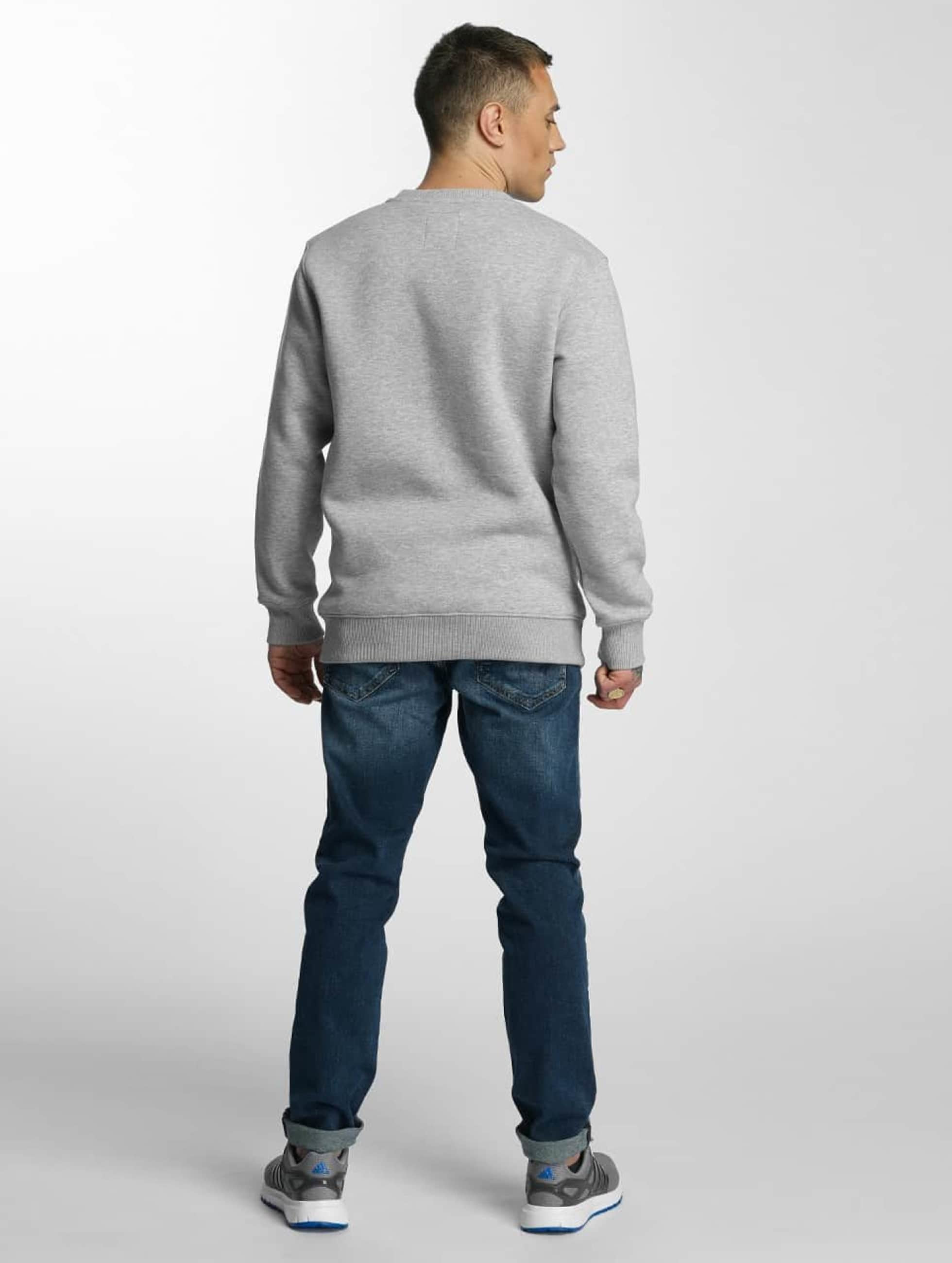 Alpha Industries Пуловер Basic серый