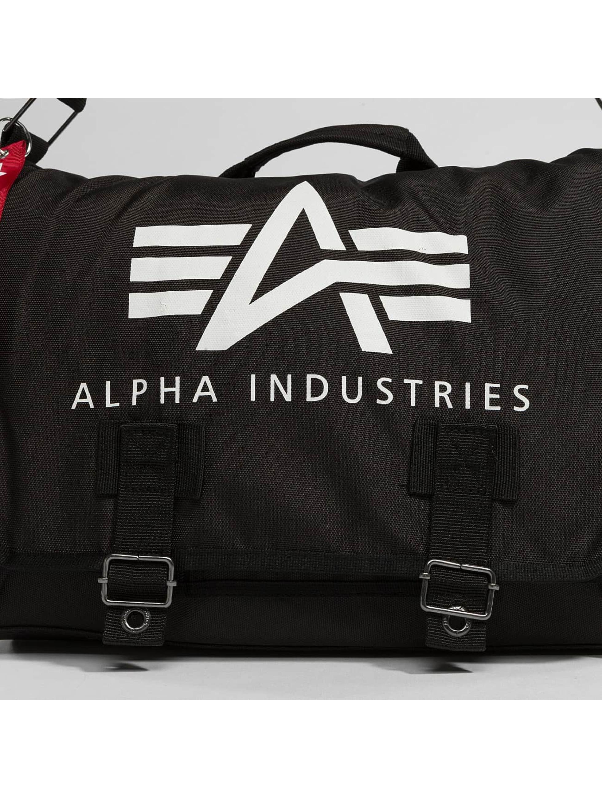 Alpha Industries Bag Big A Oxford Courier black