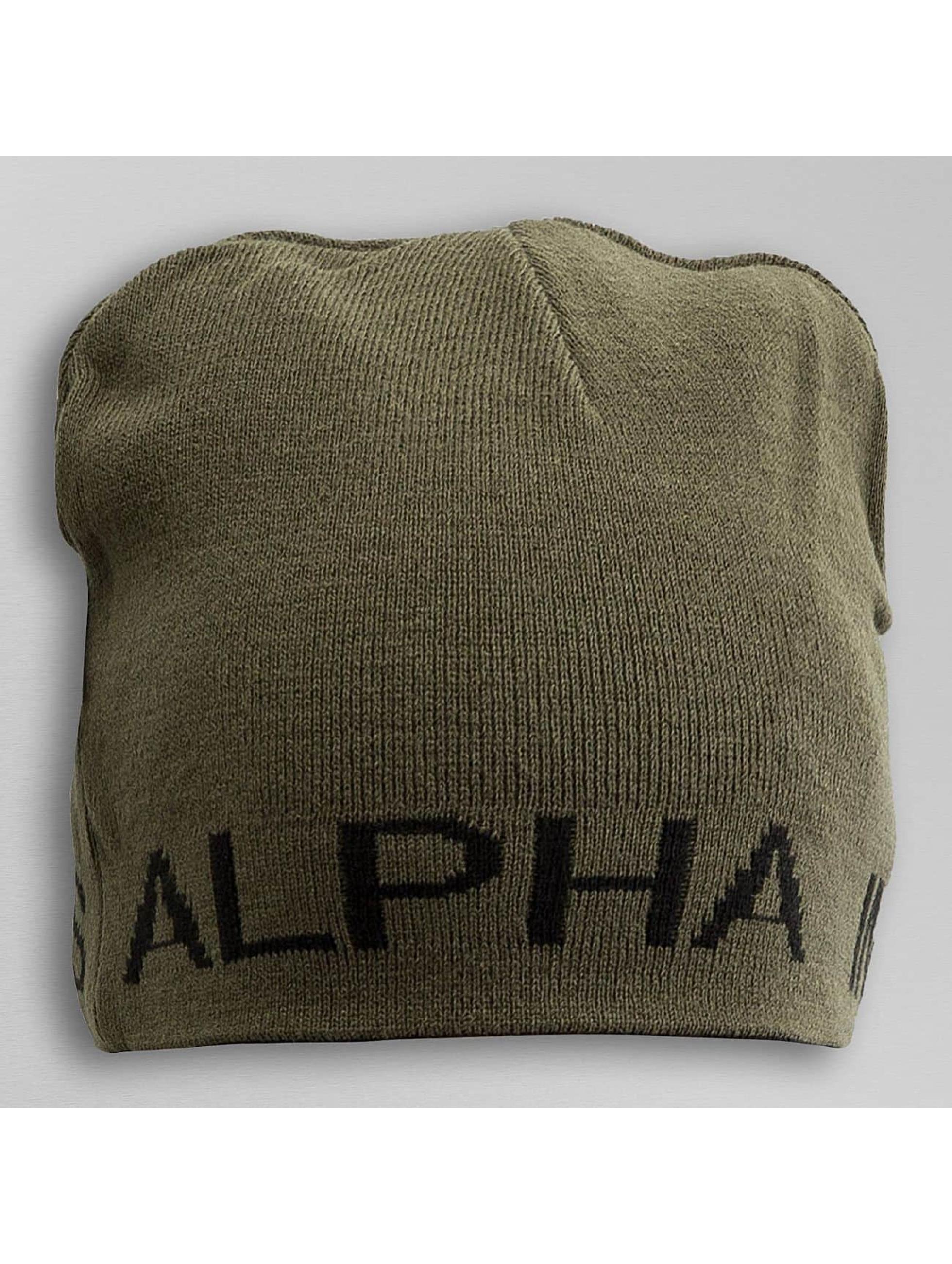 Alpha Industries Beanie Reversible schwarz