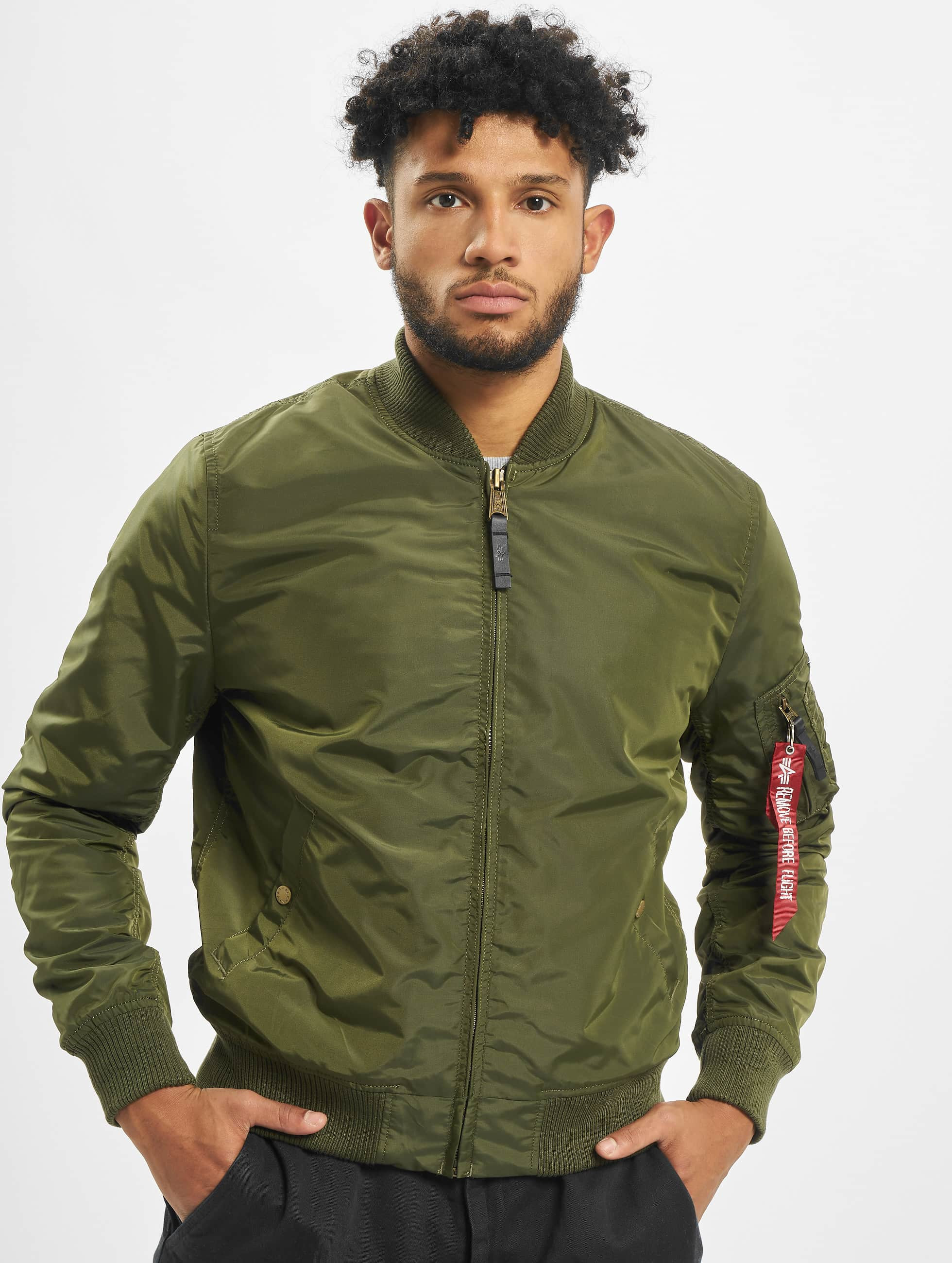 Alpha Industries Bomber jacket MA-1 TT green