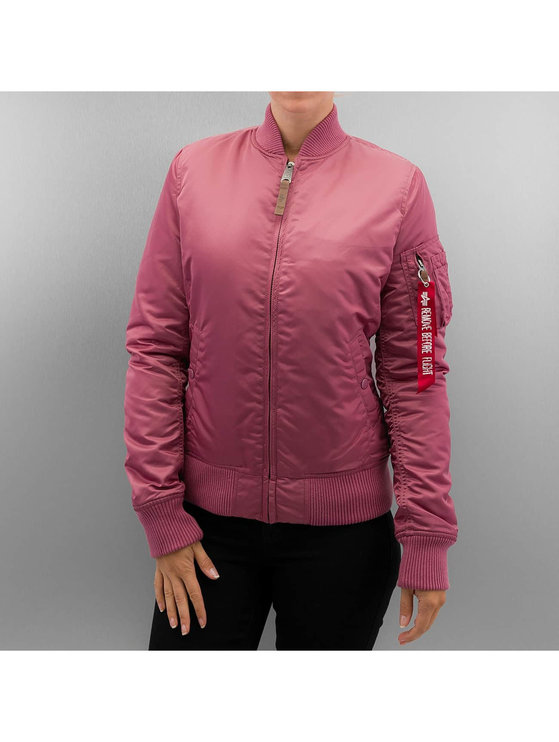 Alpha Industries Bomber jacket Ma 1 VF 59 pink