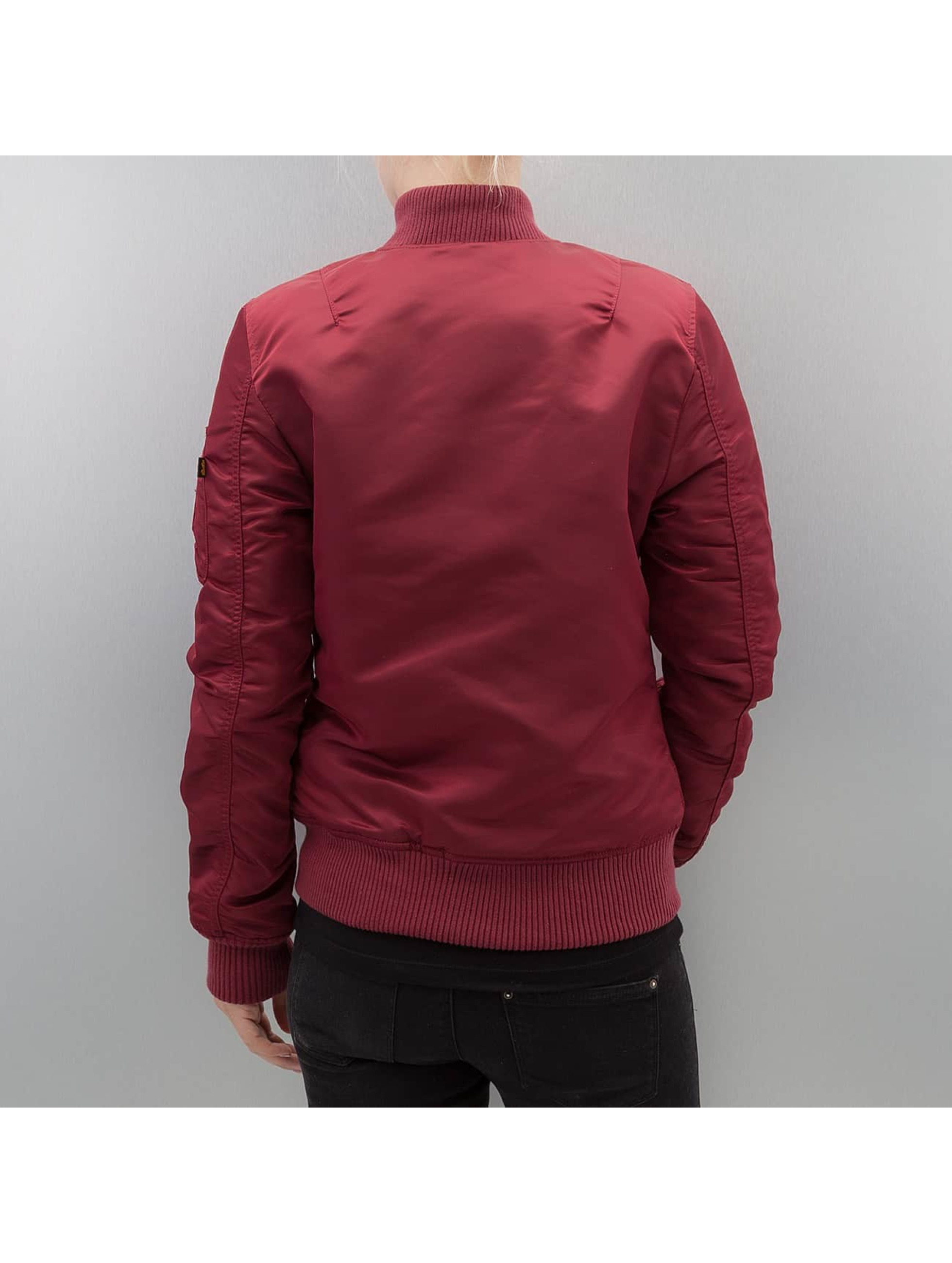 Alpha Industries Bomber jacket MA 1 VF 59 Women red
