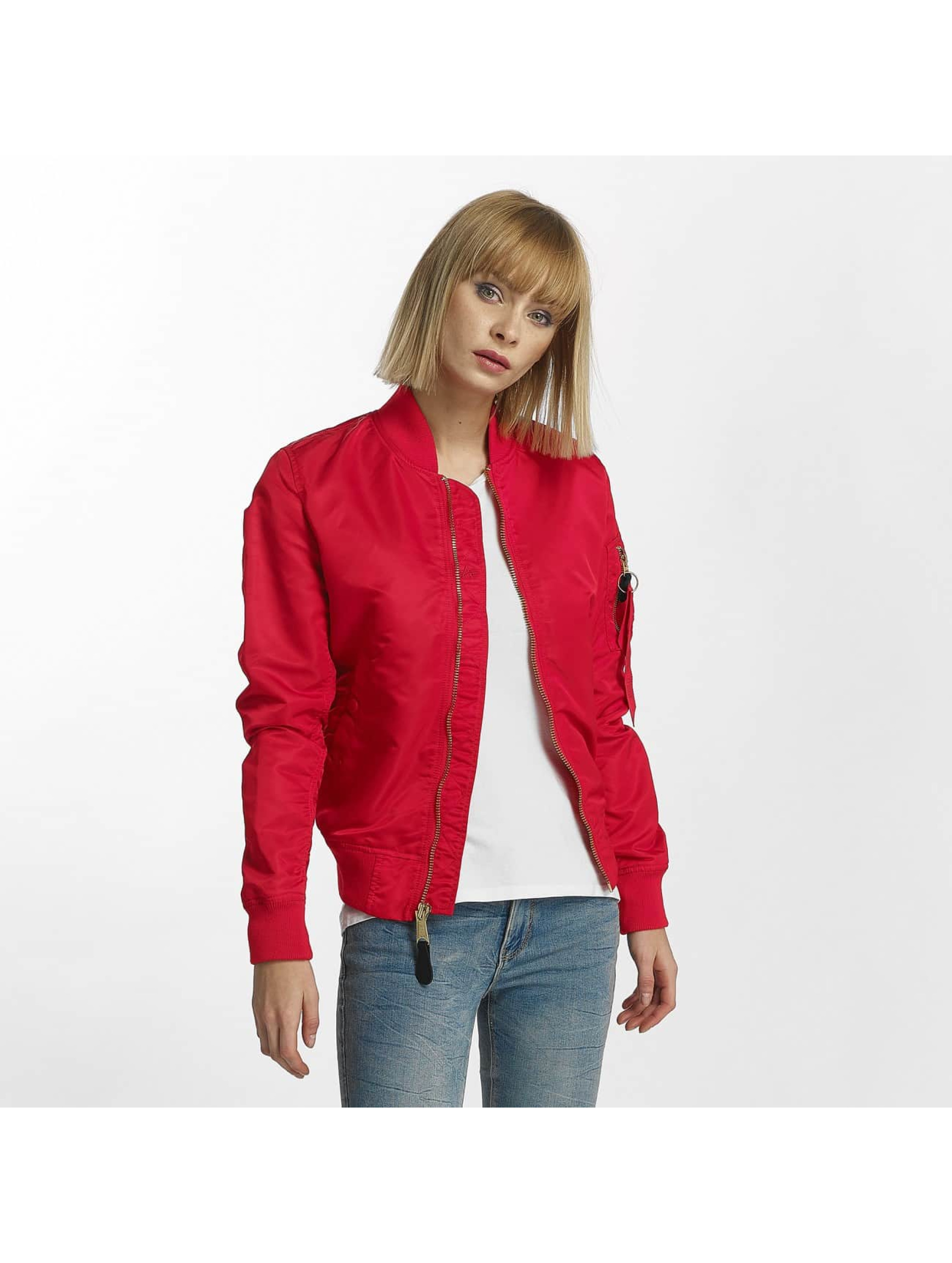 Alpha Industries Bomber jacket MA-1 VF red