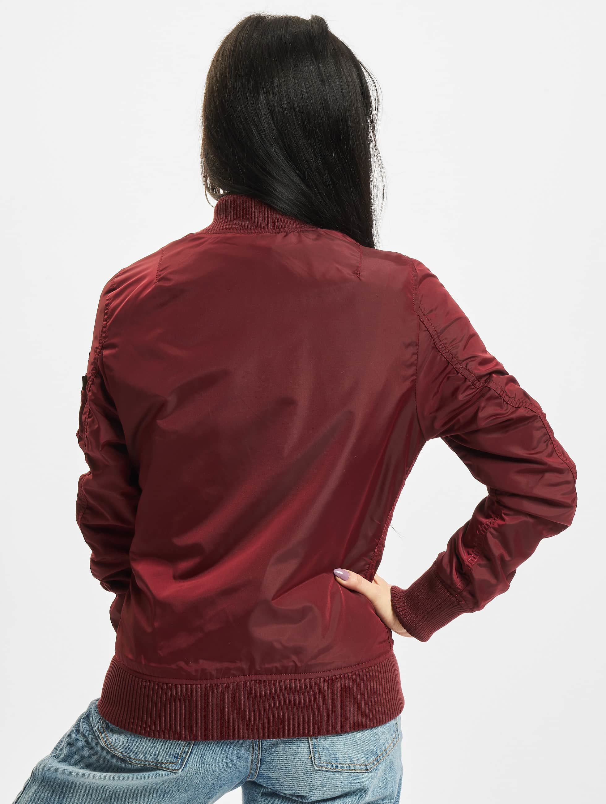 Alpha Industries Bomber MA-1 TT rouge
