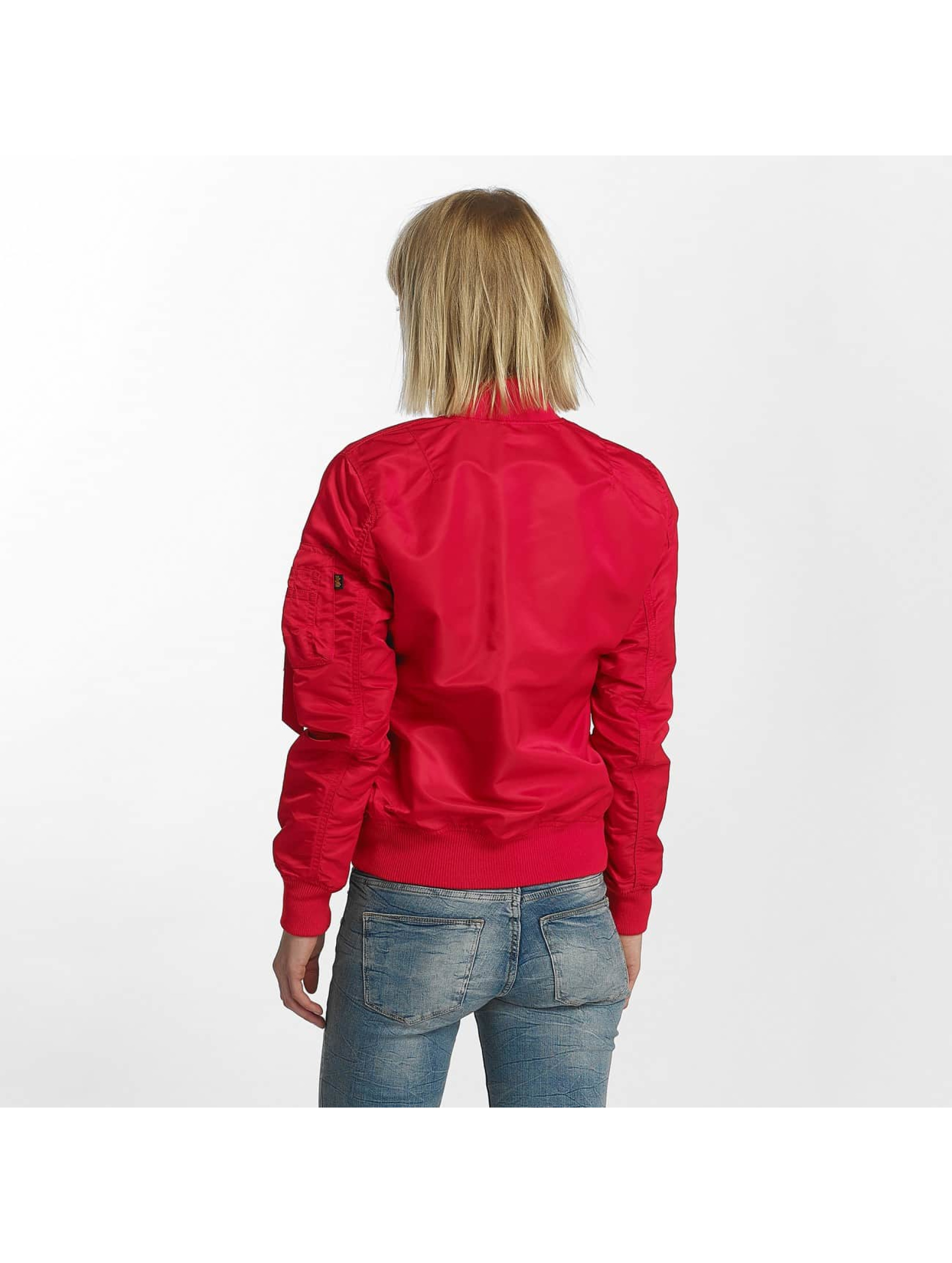 Alpha Industries Bomber MA-1 VF rouge