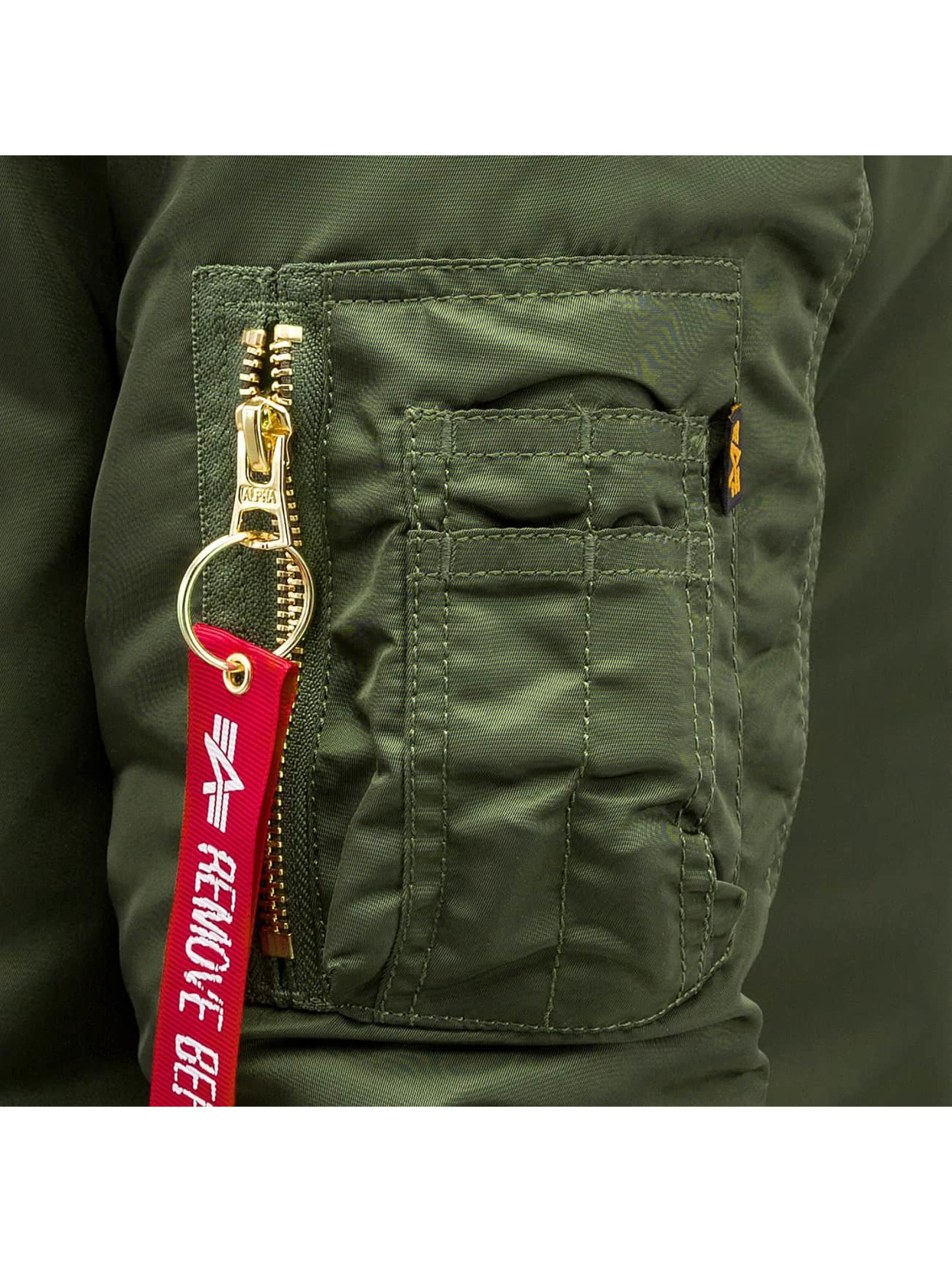 Alpha Industries Bomber MA-1 Coat B3 vert