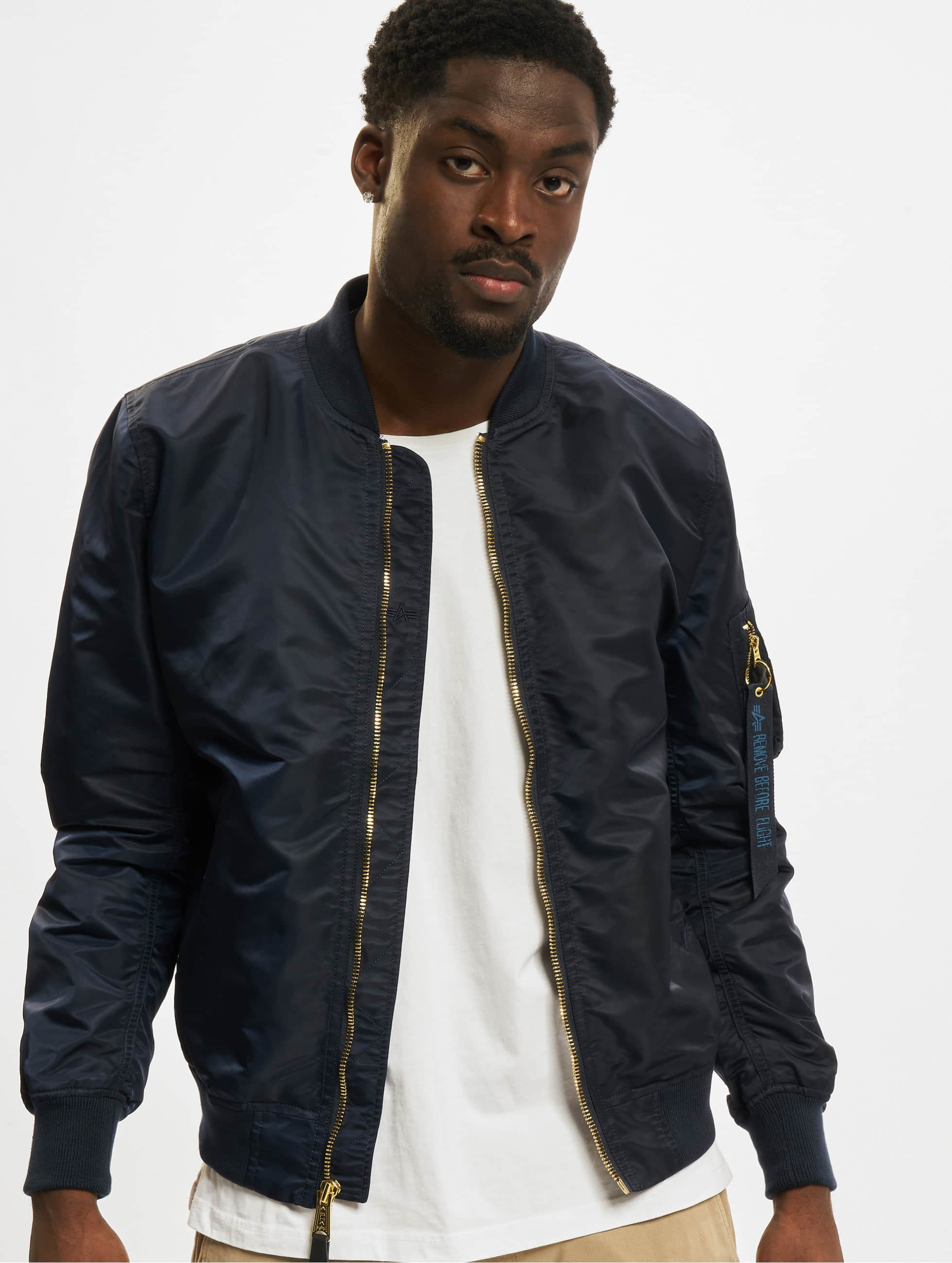 alpha industries herren bomberjacke ma 1 vf lw in blau 236550. Black Bedroom Furniture Sets. Home Design Ideas