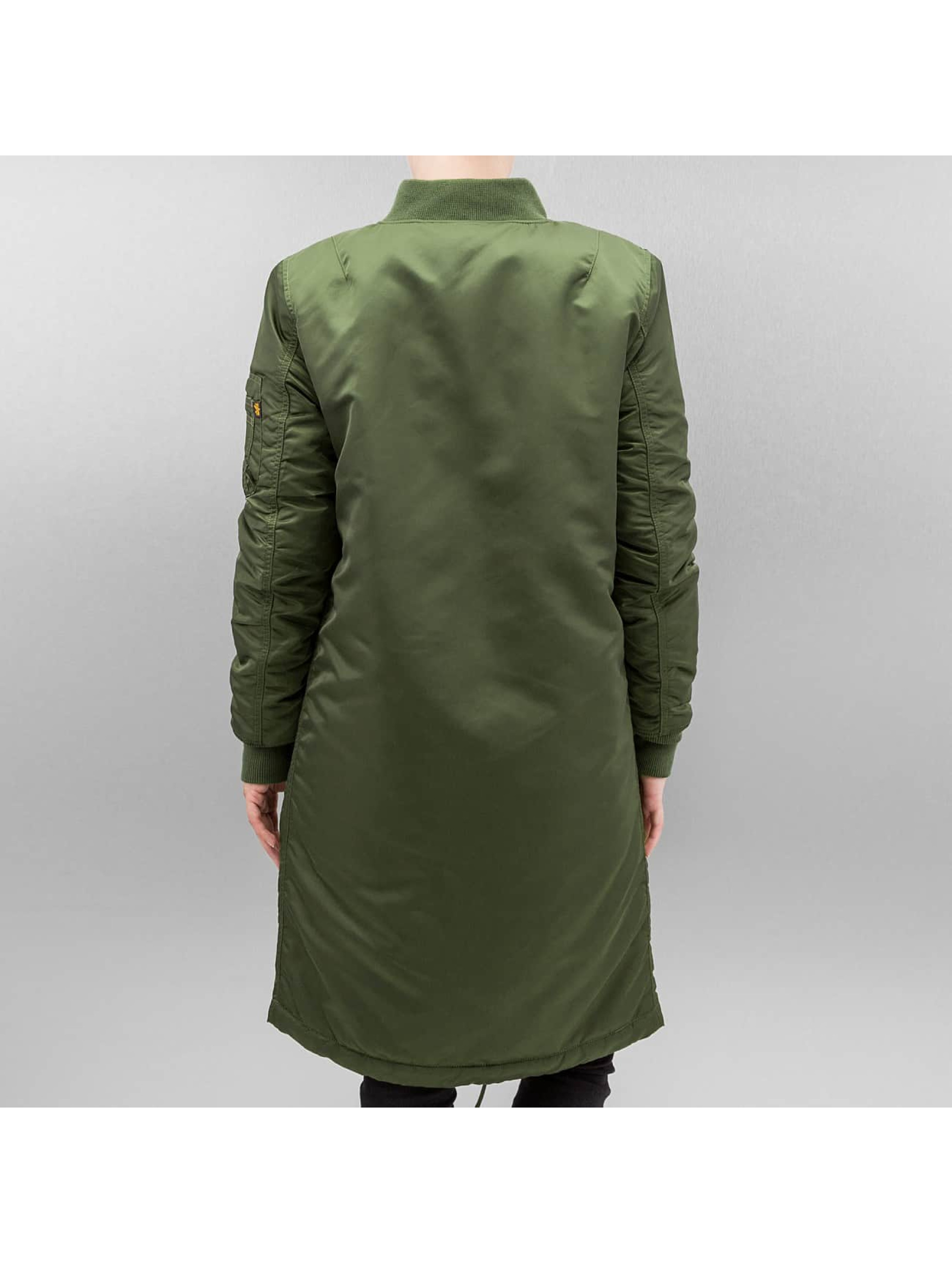 Alpha Industries Bomberjacke MA-1 Coat B3 grün