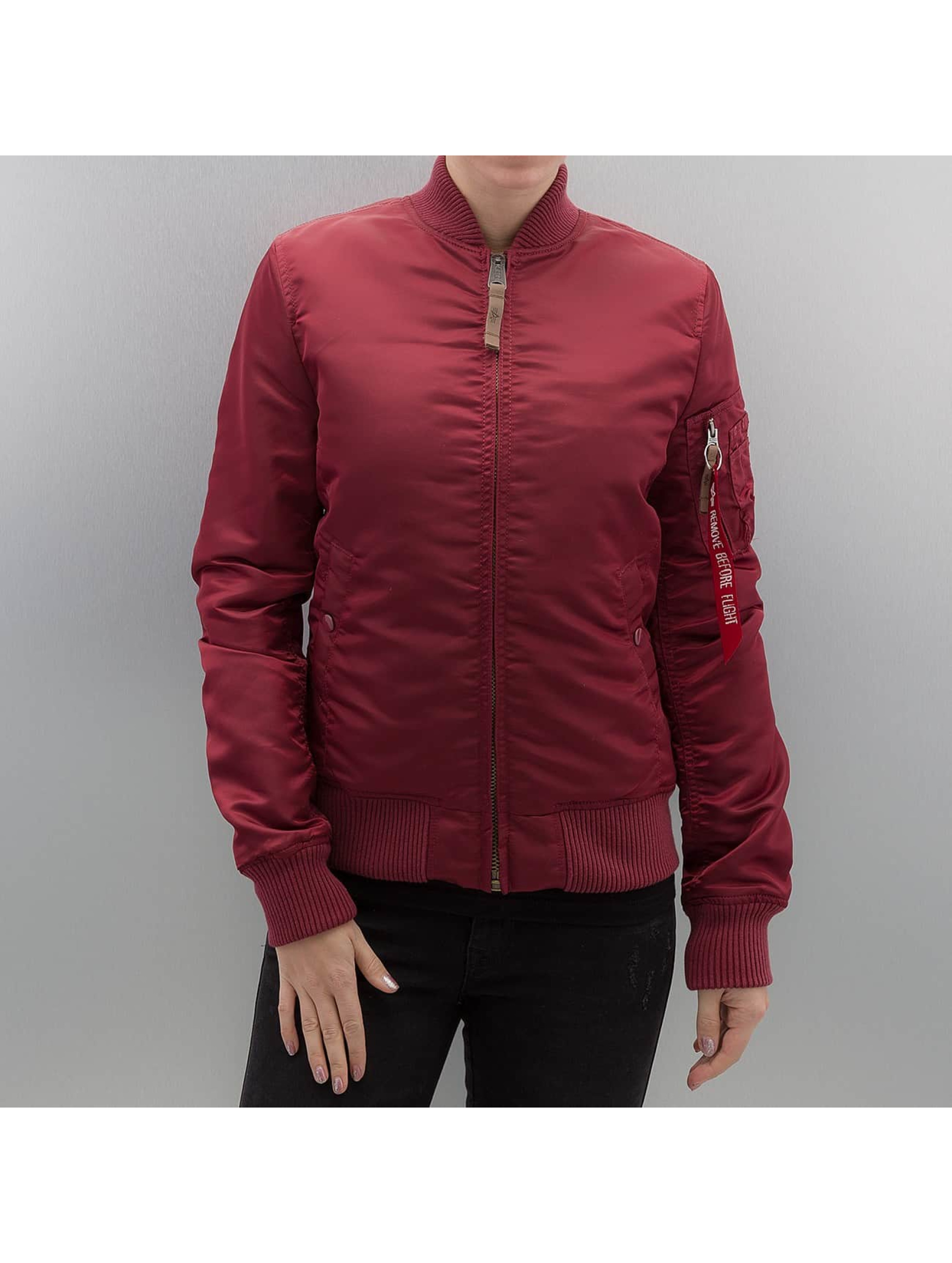 Alpha Industries Bomberová bunda MA 1 VF 59 Women èervená