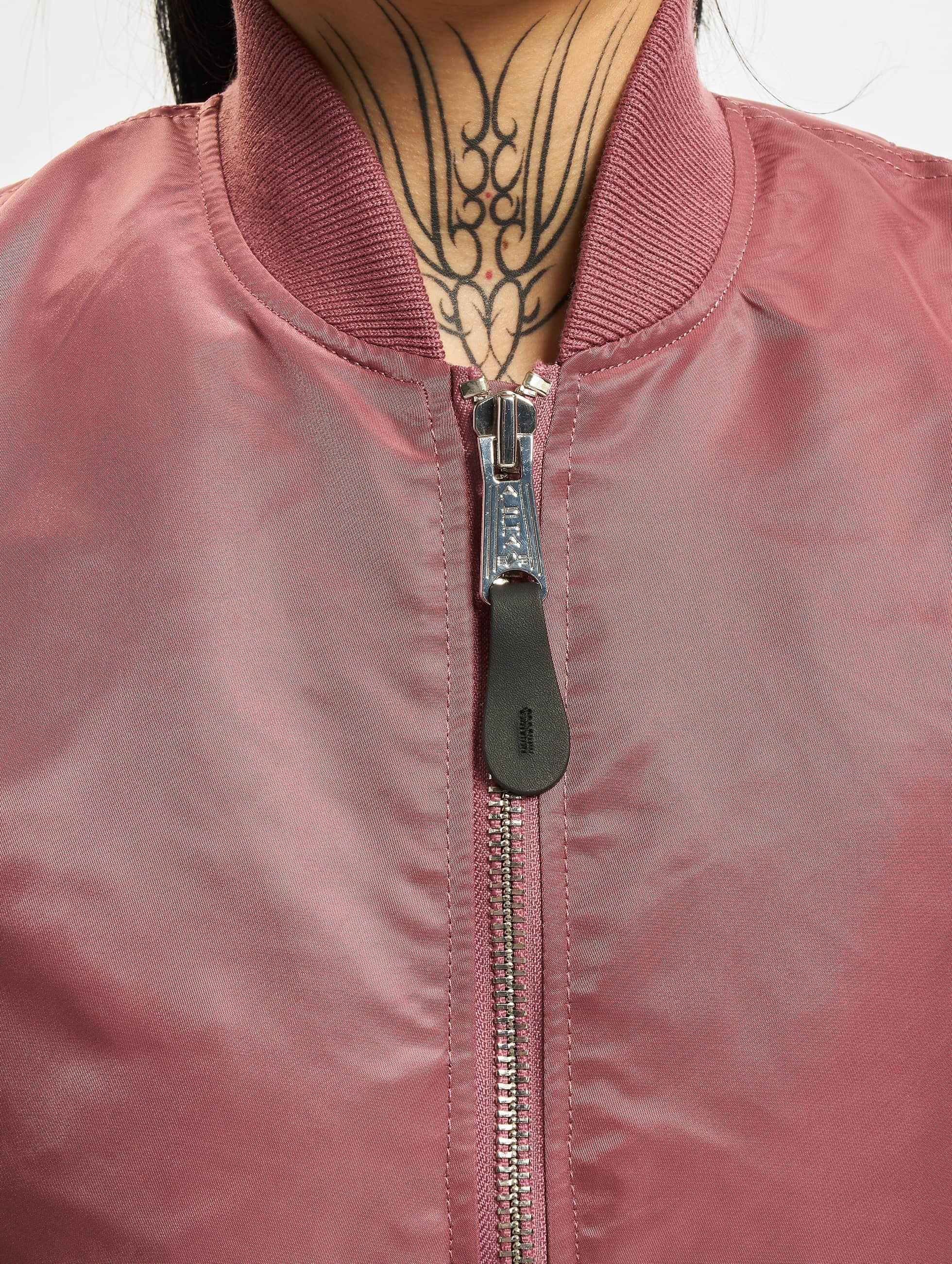Alpha Industries Bomberová bunda MA-1 VF pink