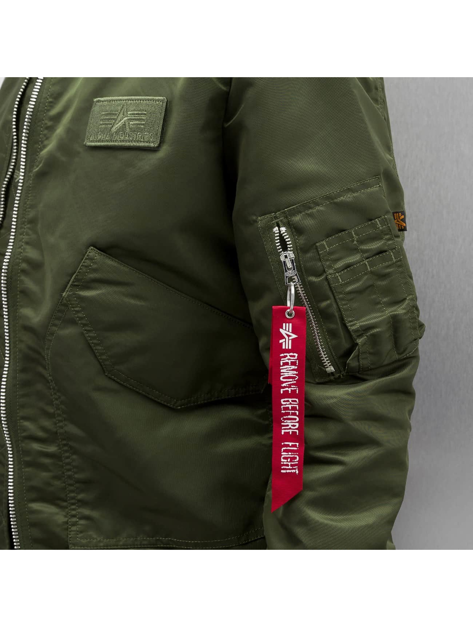 Alpha Industries Bomberová bunda CWU LW PM zelená