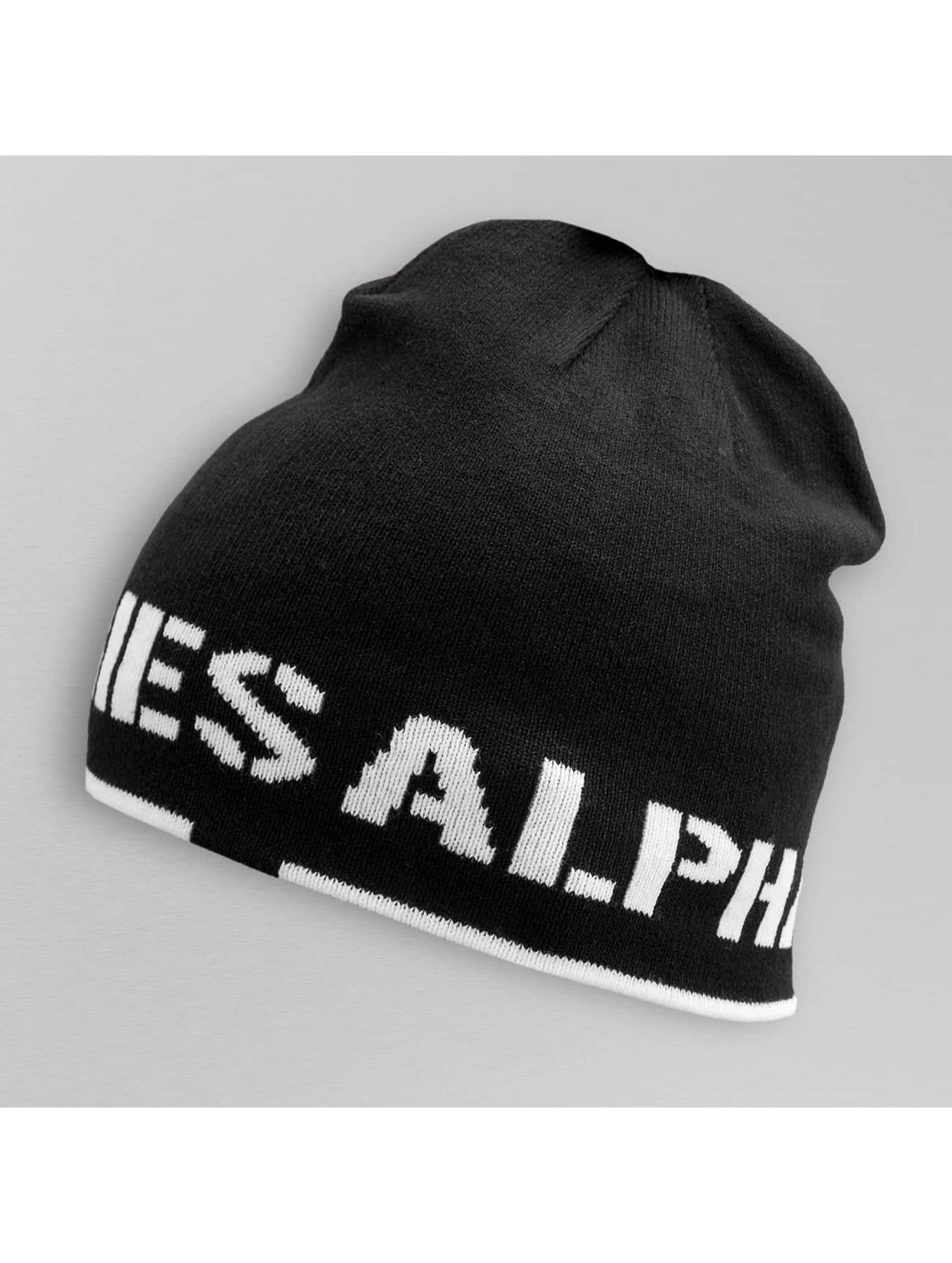 Alpha Industries Bonnet Reversible II noir