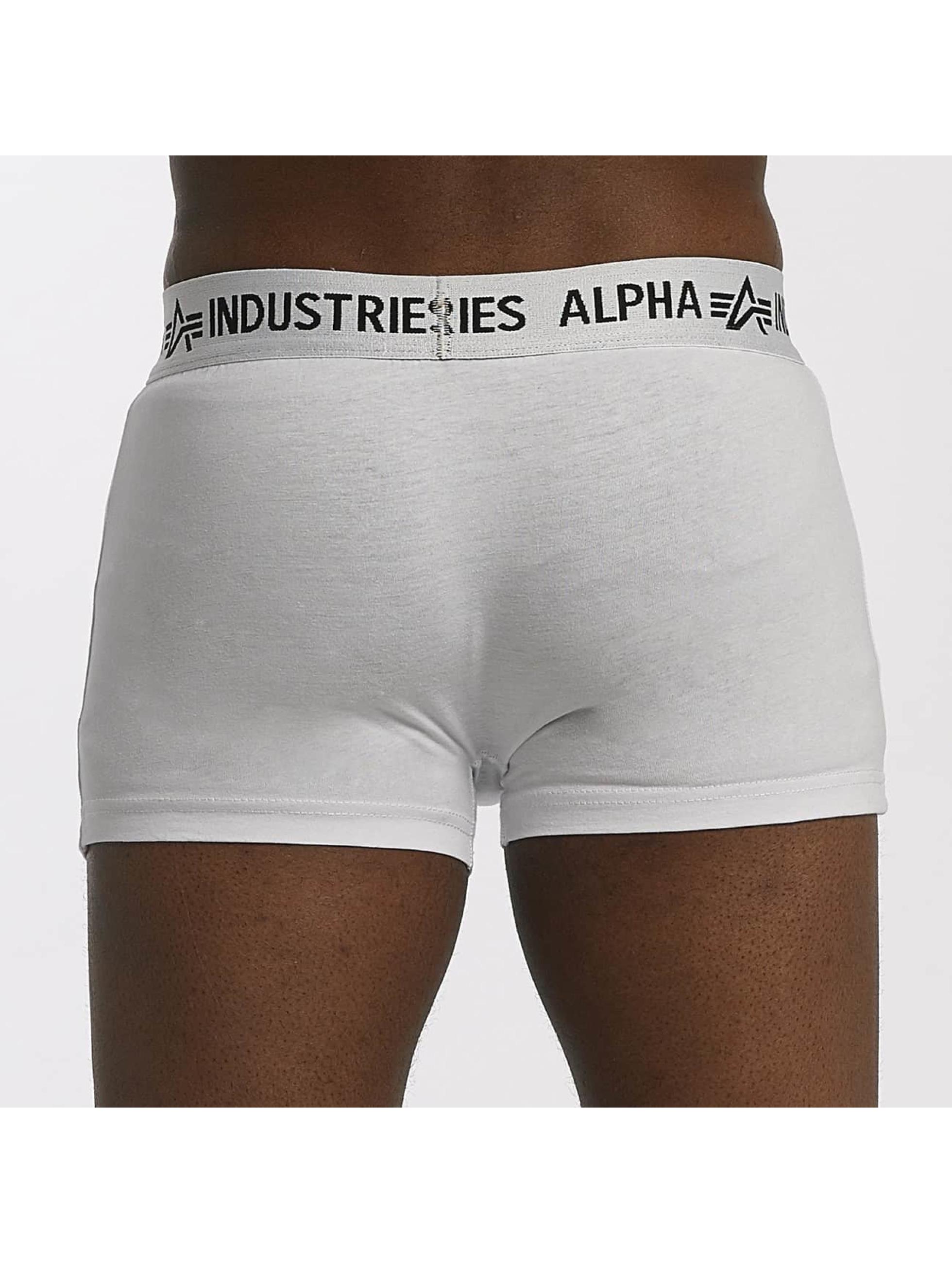 Alpha Industries Boxerky Trunk biela