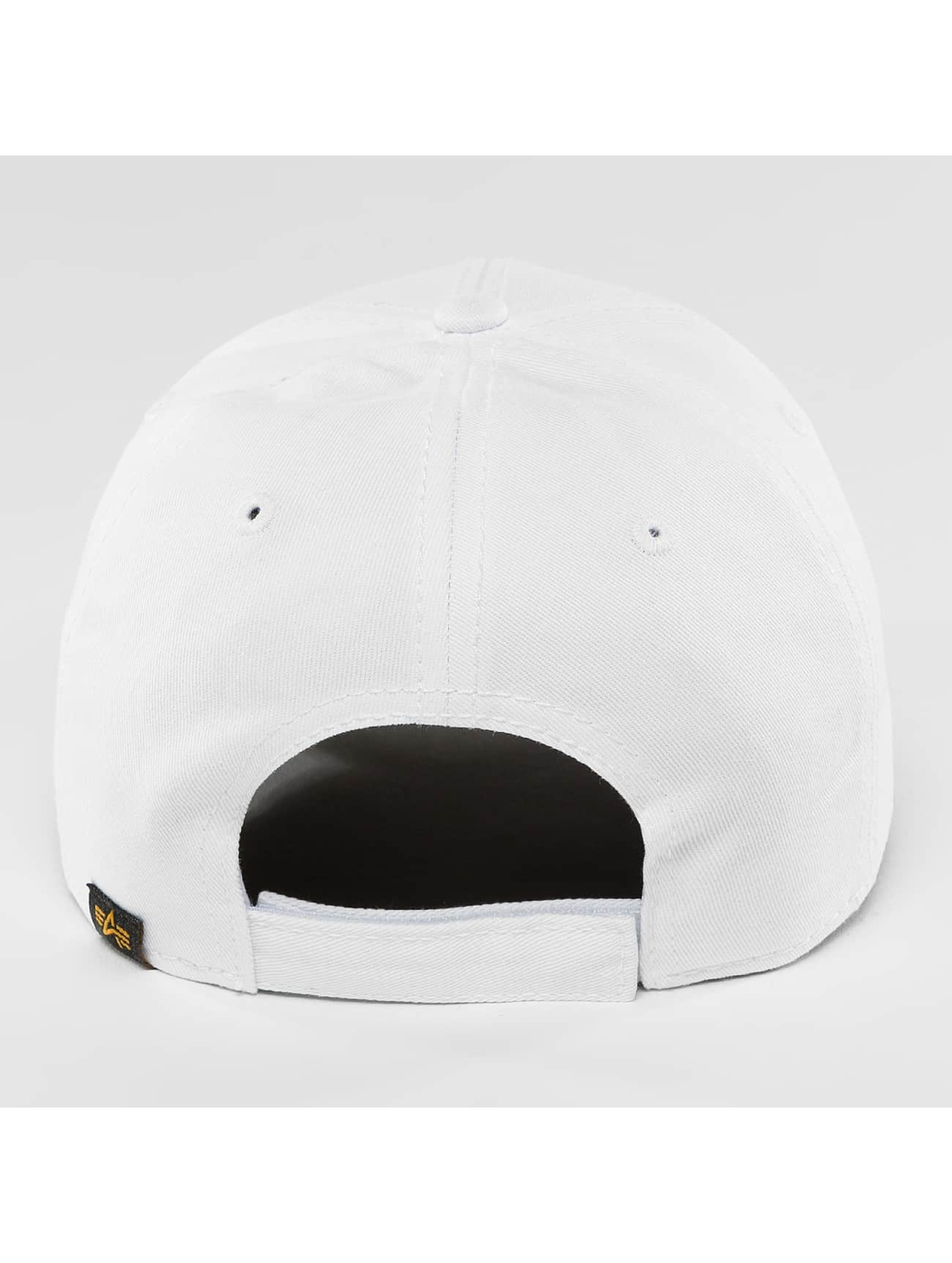 Alpha Industries Casquette Snapback & Strapback X-Fit II blanc