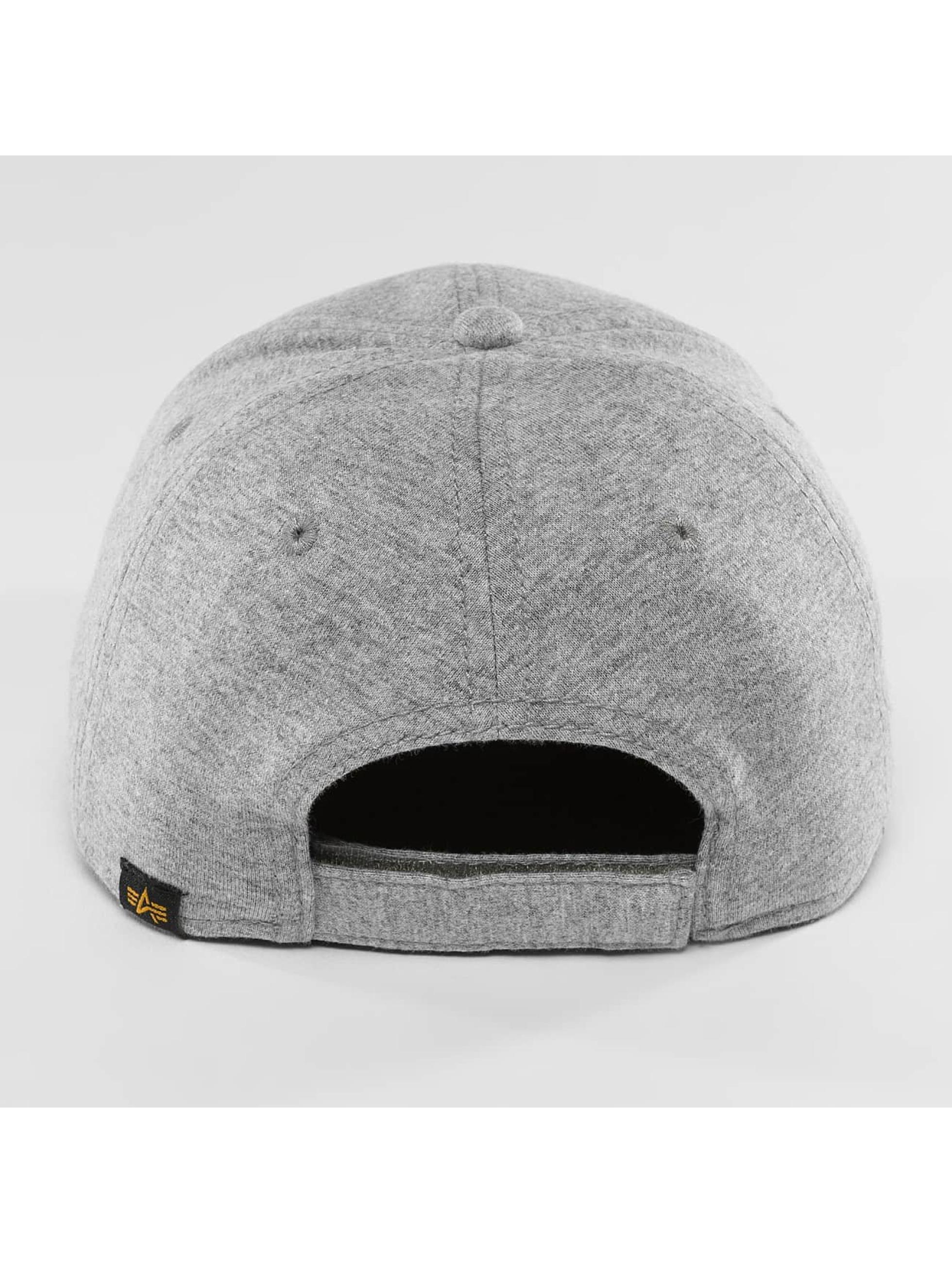 Alpha Industries Casquette Snapback & Strapback X-Fit II gris