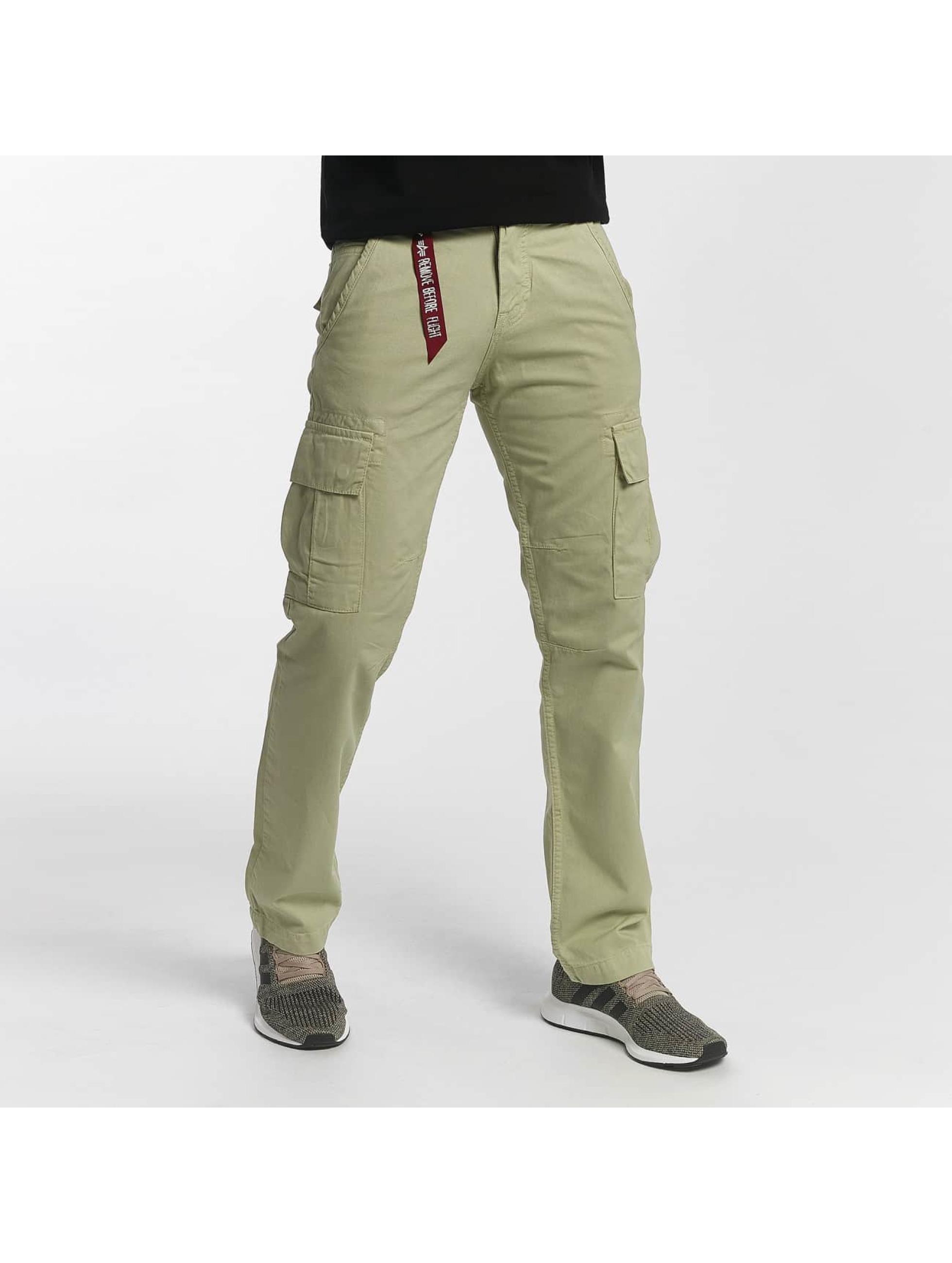 Alpha Industries Chino bukser Agent brun