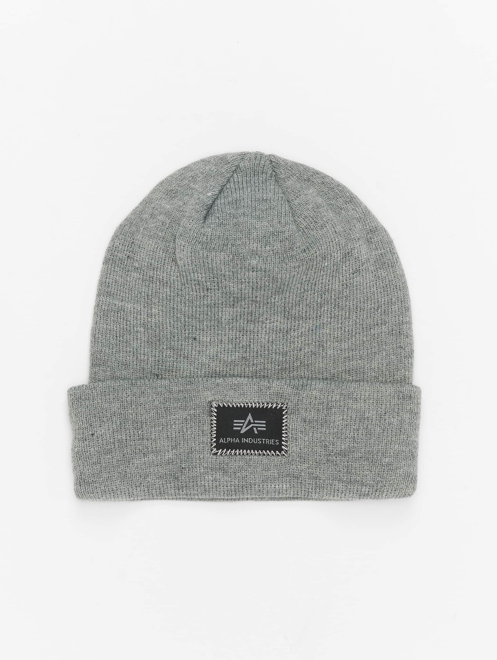 Alpha Industries Hat-1 X-Fit gray