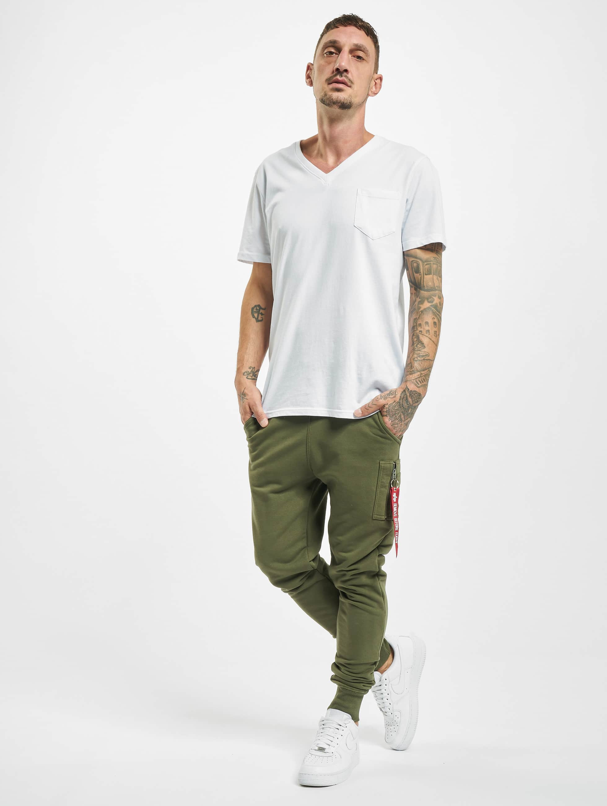 Alpha Industries Joggingbyxor X-Fit grön