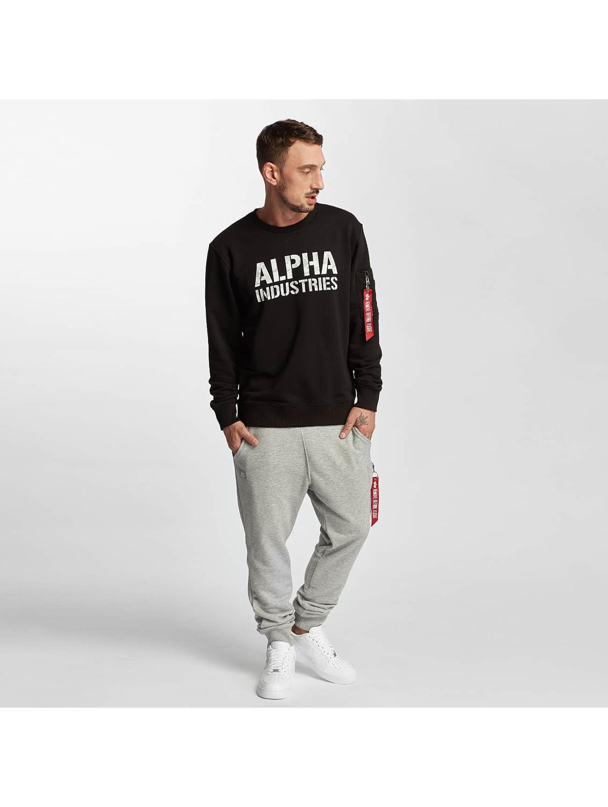 Alpha Industries Jogginghose X-Fit Loose grau