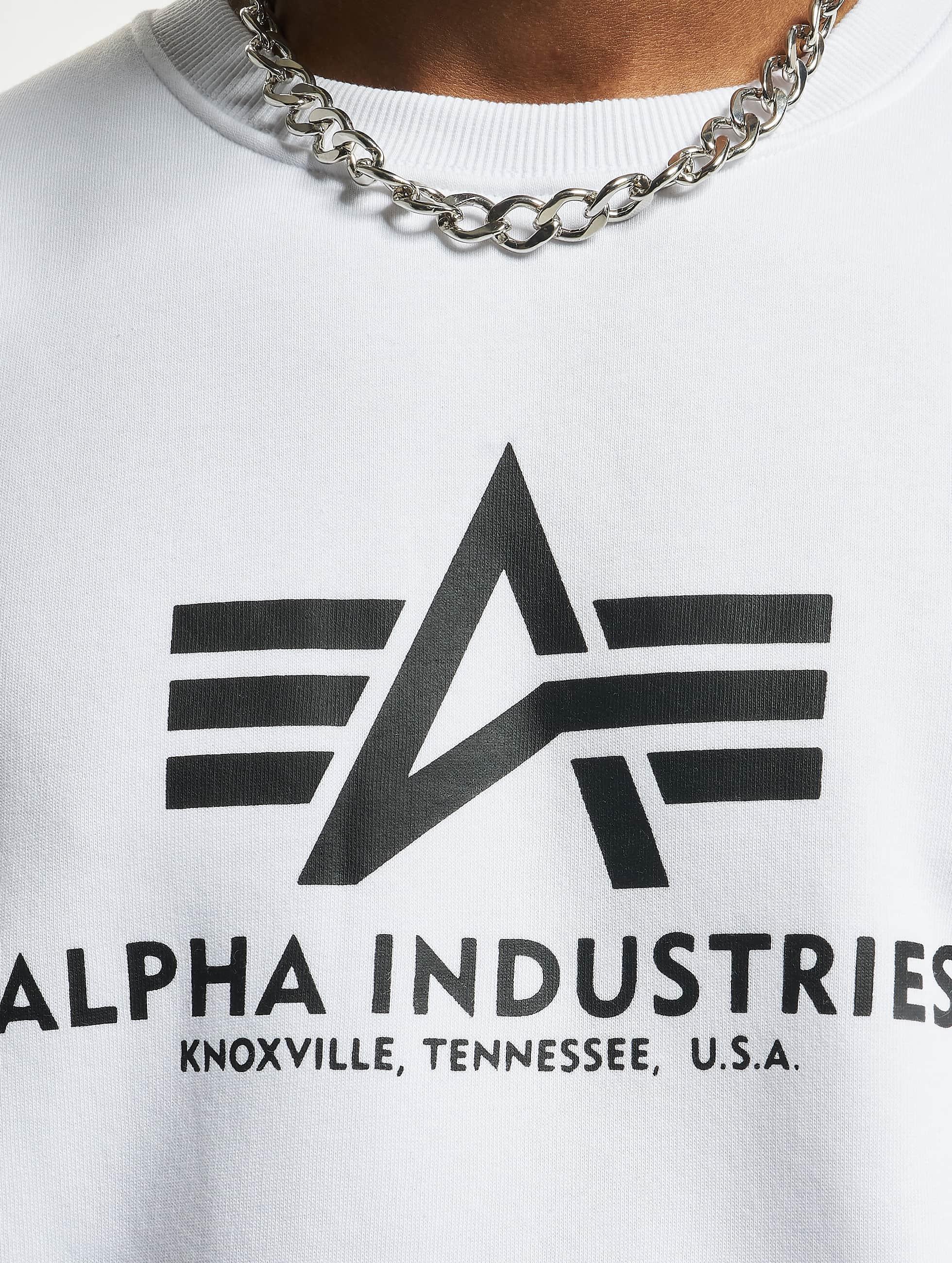Alpha Industries Jumper Basic white
