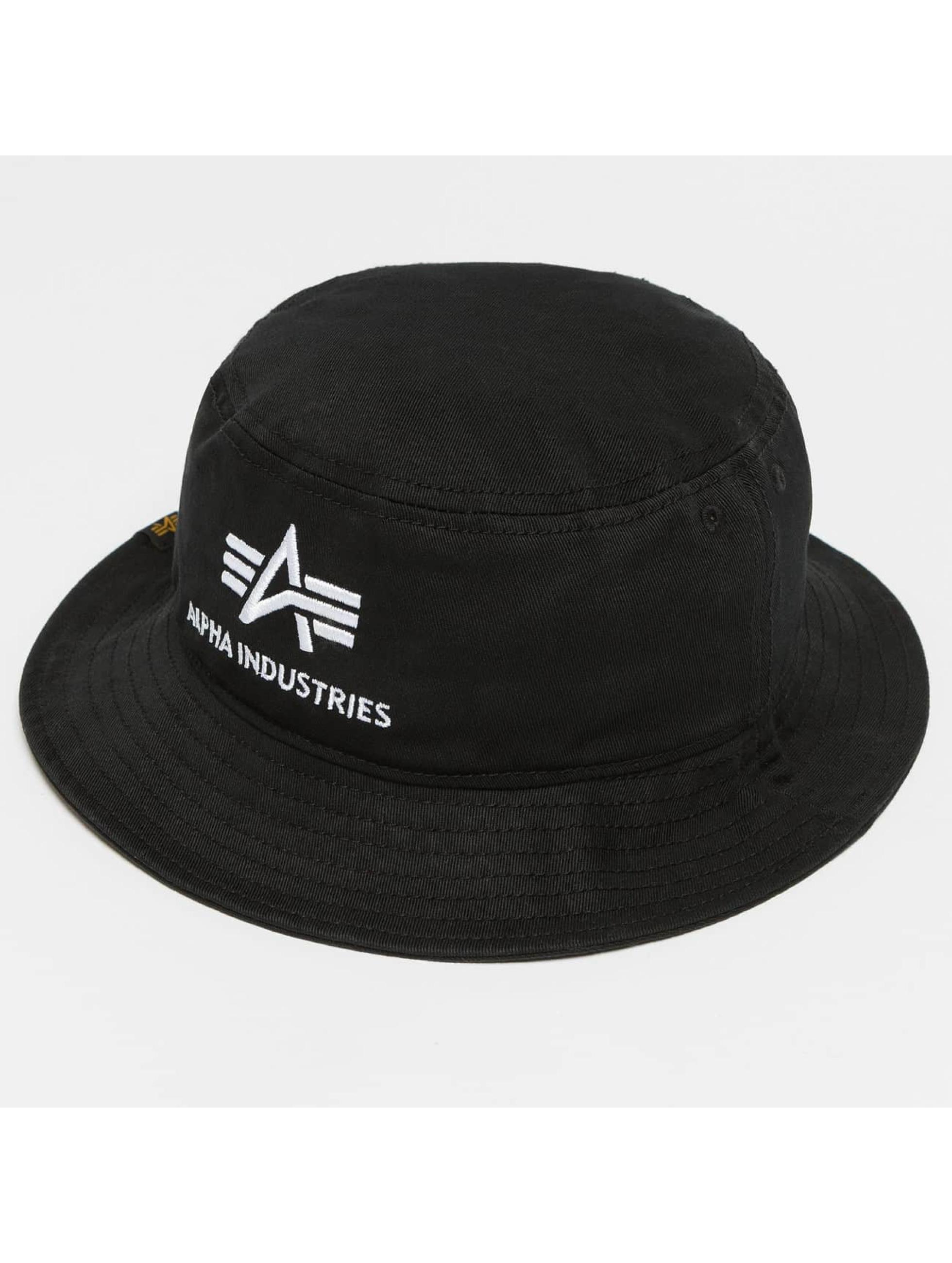 Alpha Industries Kapelusze Bucket czarny
