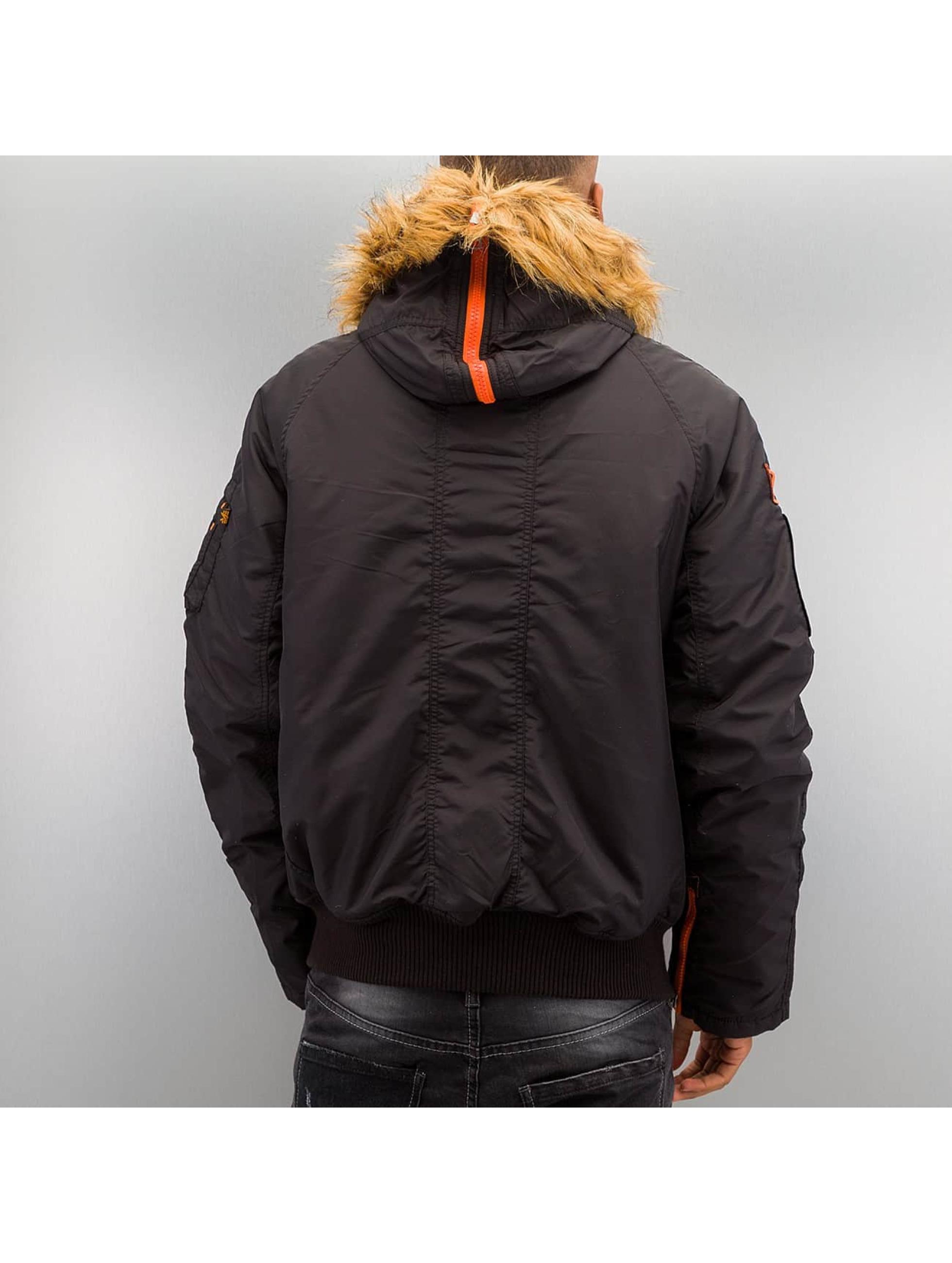 Alpha Industries Manteau hiver PPS N2B noir
