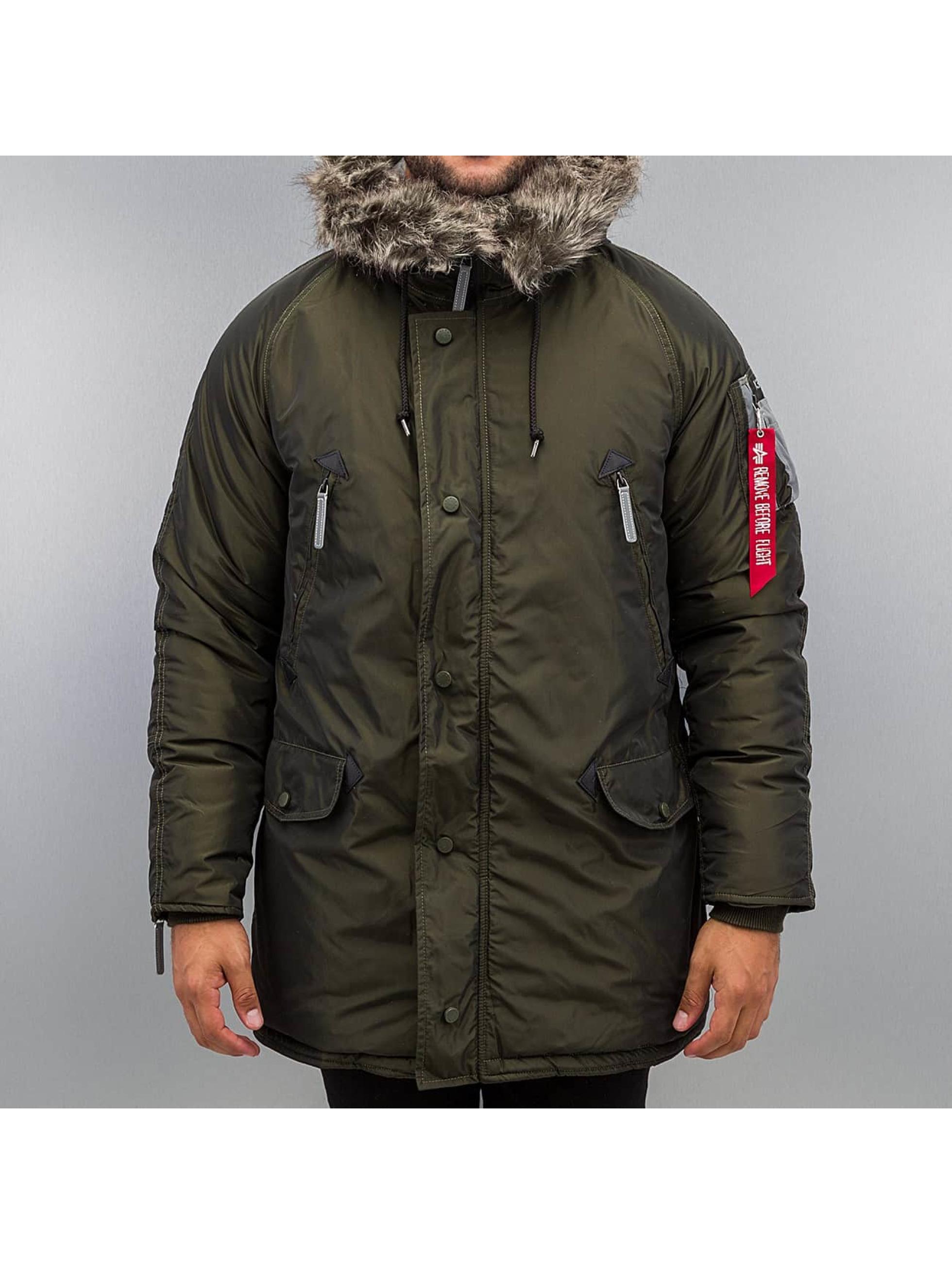 Alpha Industries Manteau hiver N3-B R vert