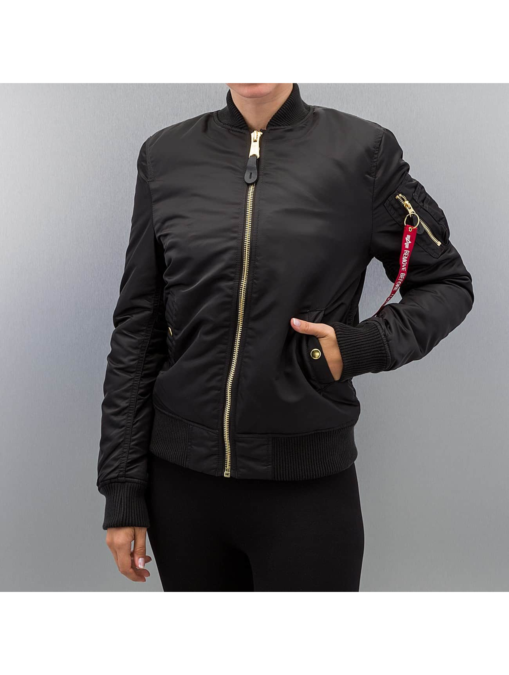 Alpha Industries Pilottitakit Ma-1VF Pm musta