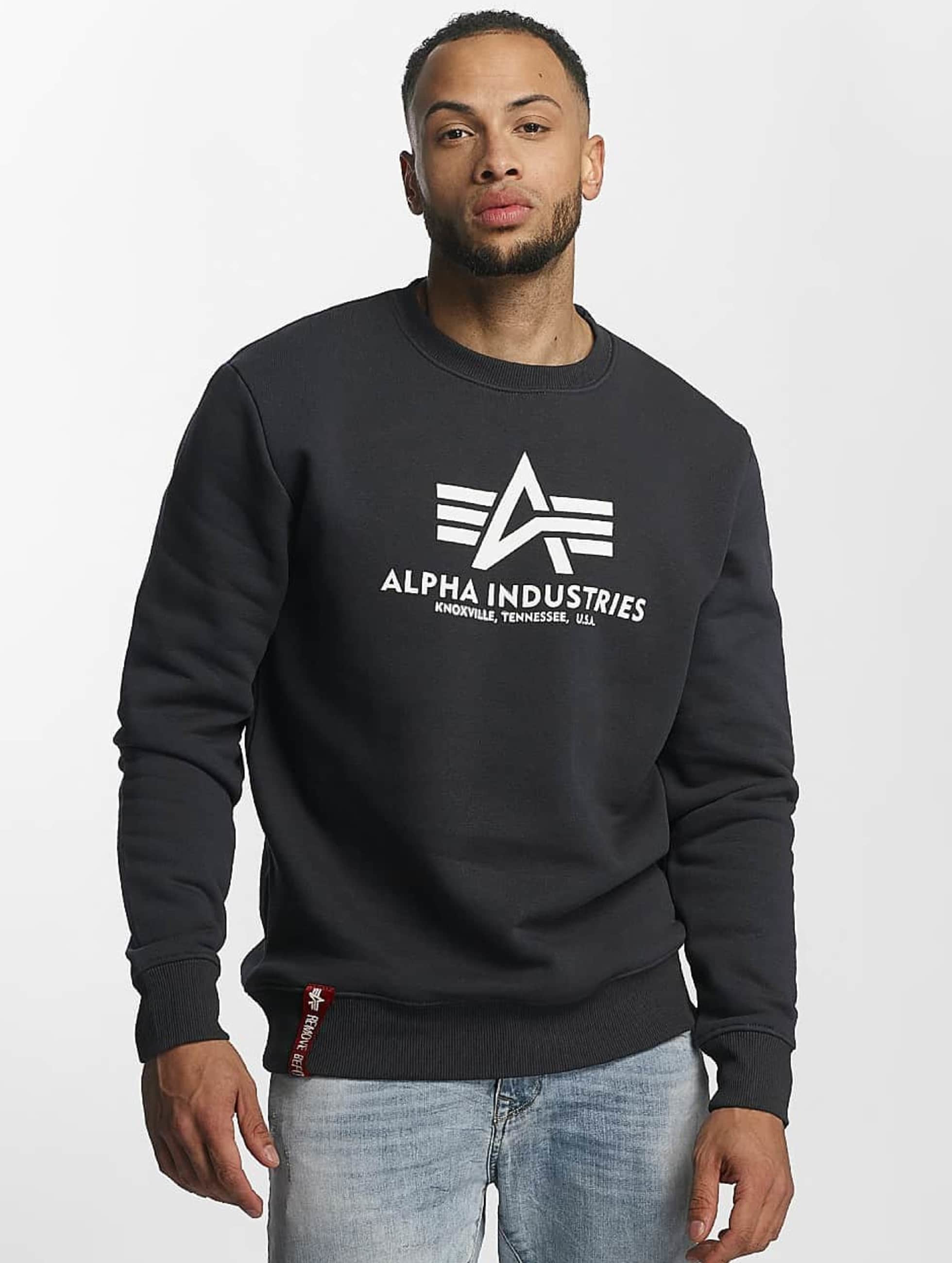 Alpha Industries Pullover Basic blue