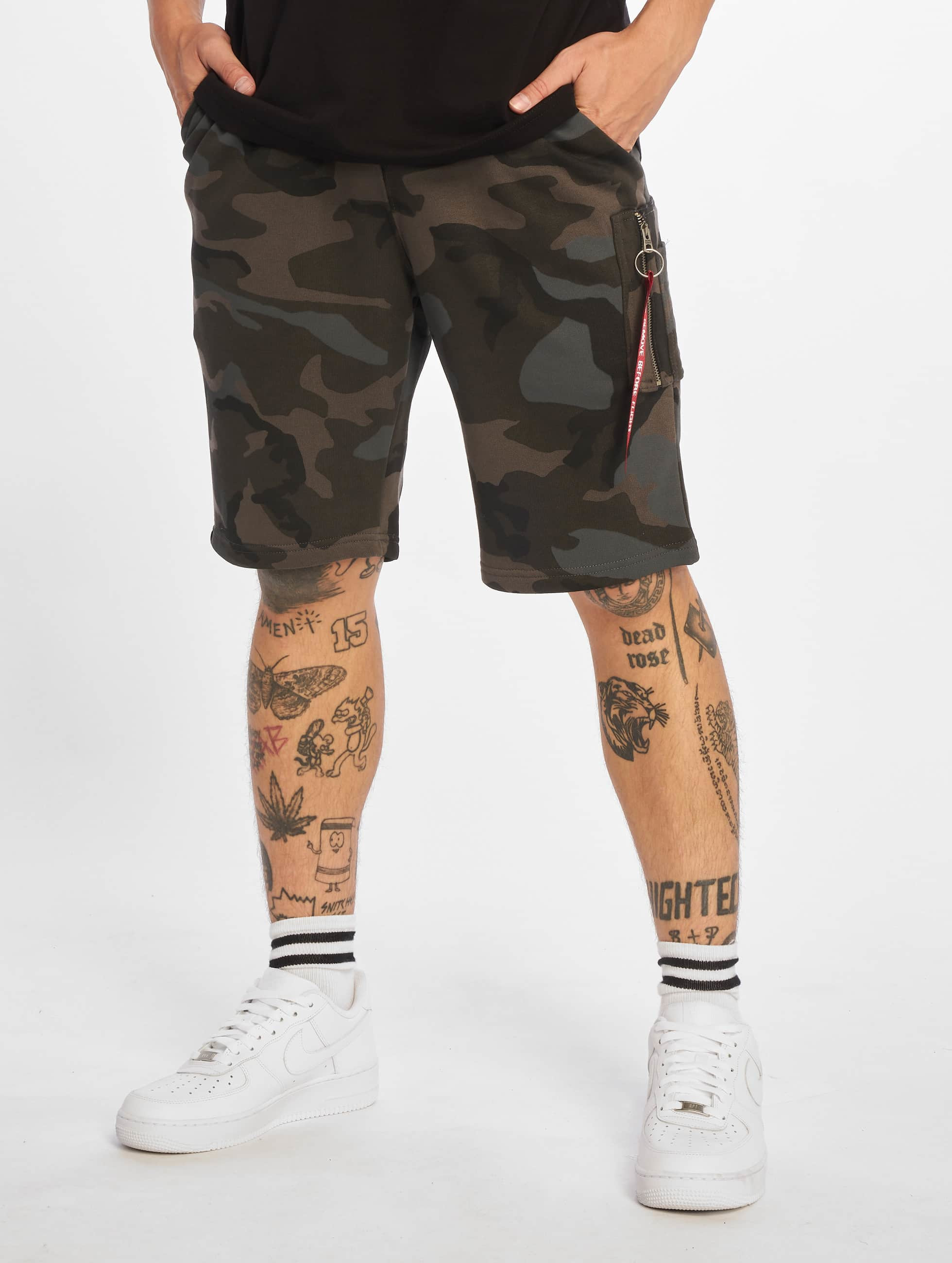 Alpha Industries Short X-Fit black