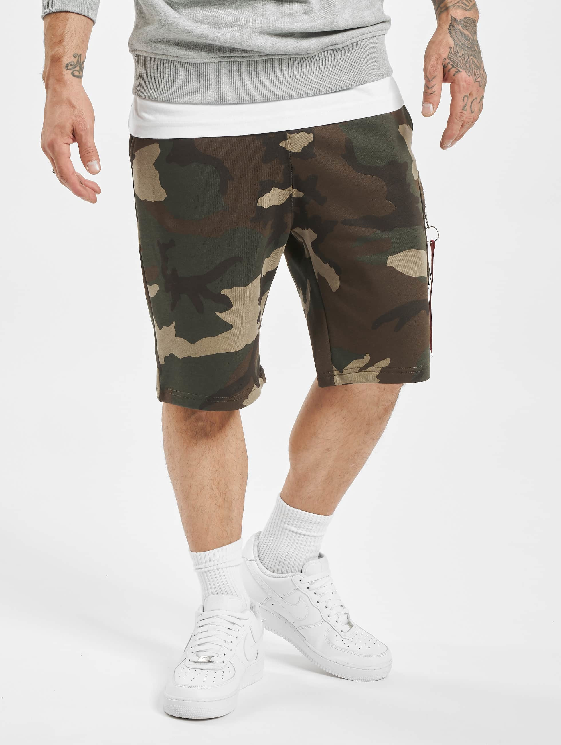 Alpha Industries Short X-Fit camouflage