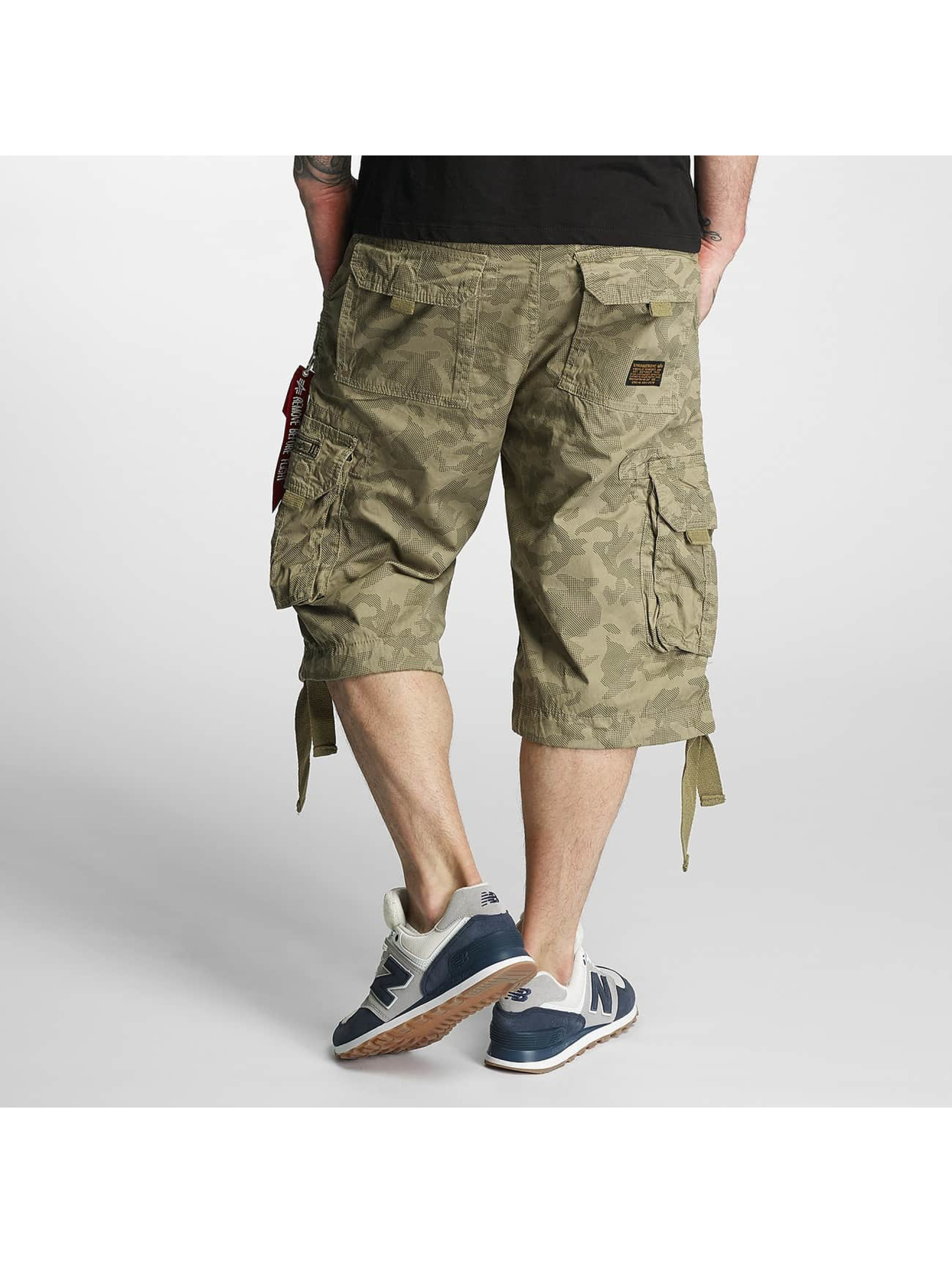 Alpha Industries Short Jet olive