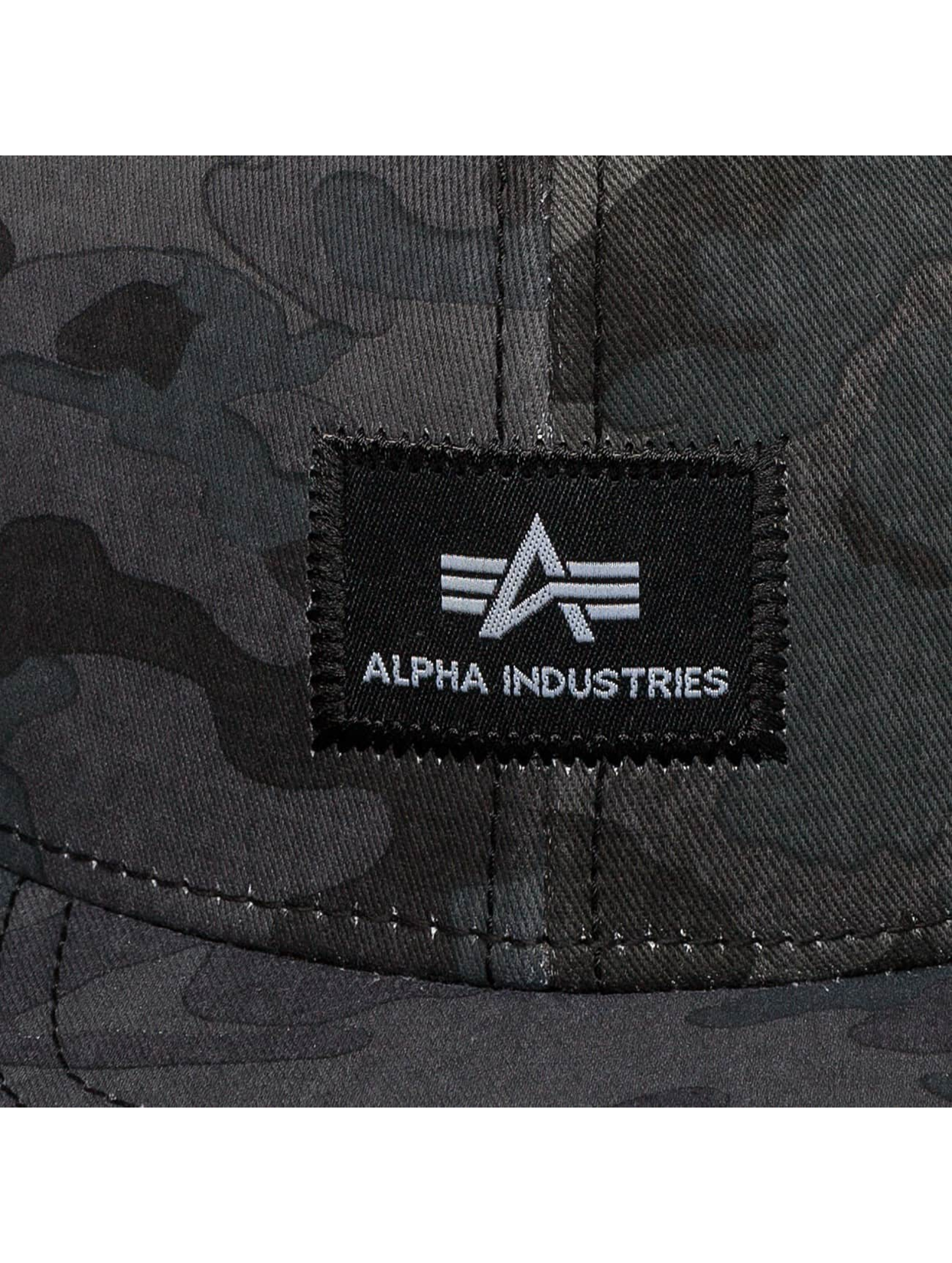 Alpha Industries Snapback X-Fit èierna
