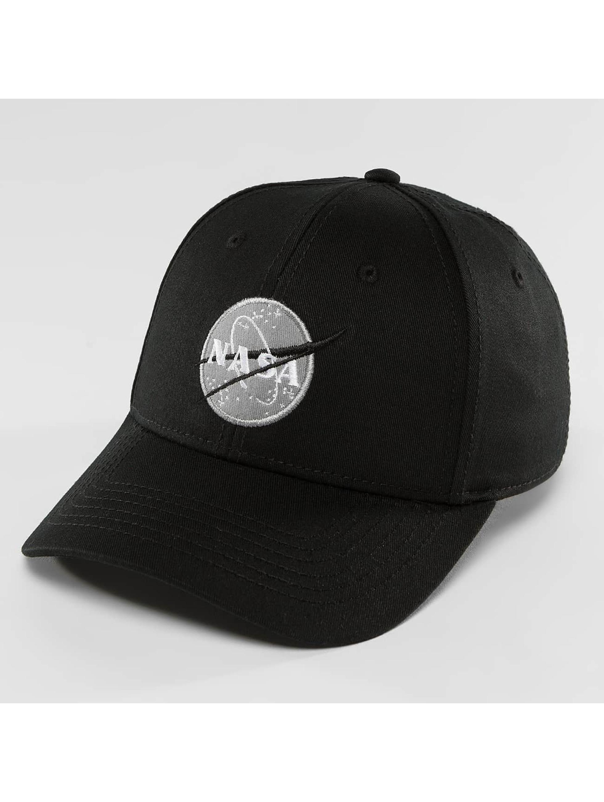 Alpha Industries Snapback Cap NASA black