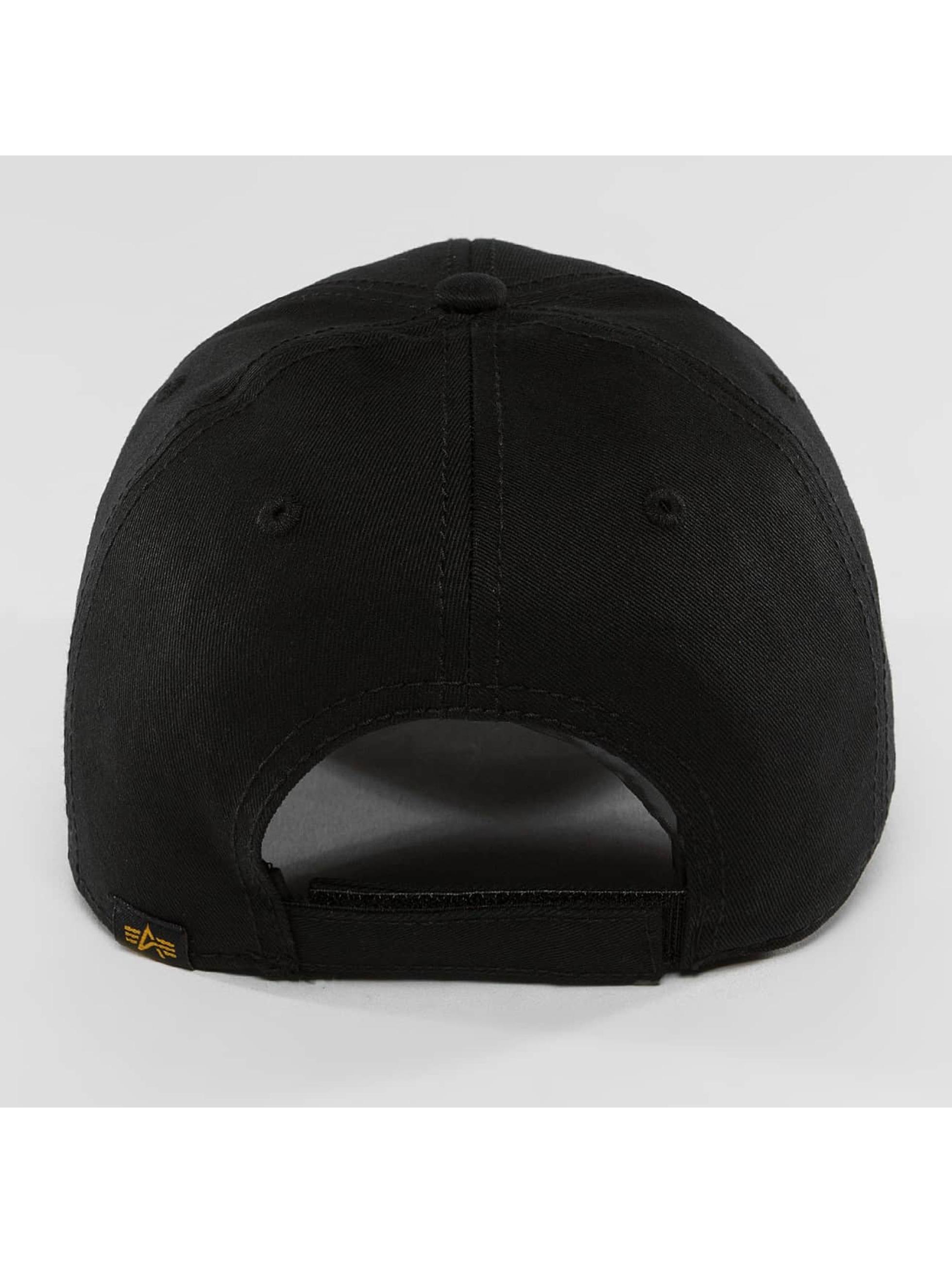Alpha Industries Snapback Caps X-Fit II czarny