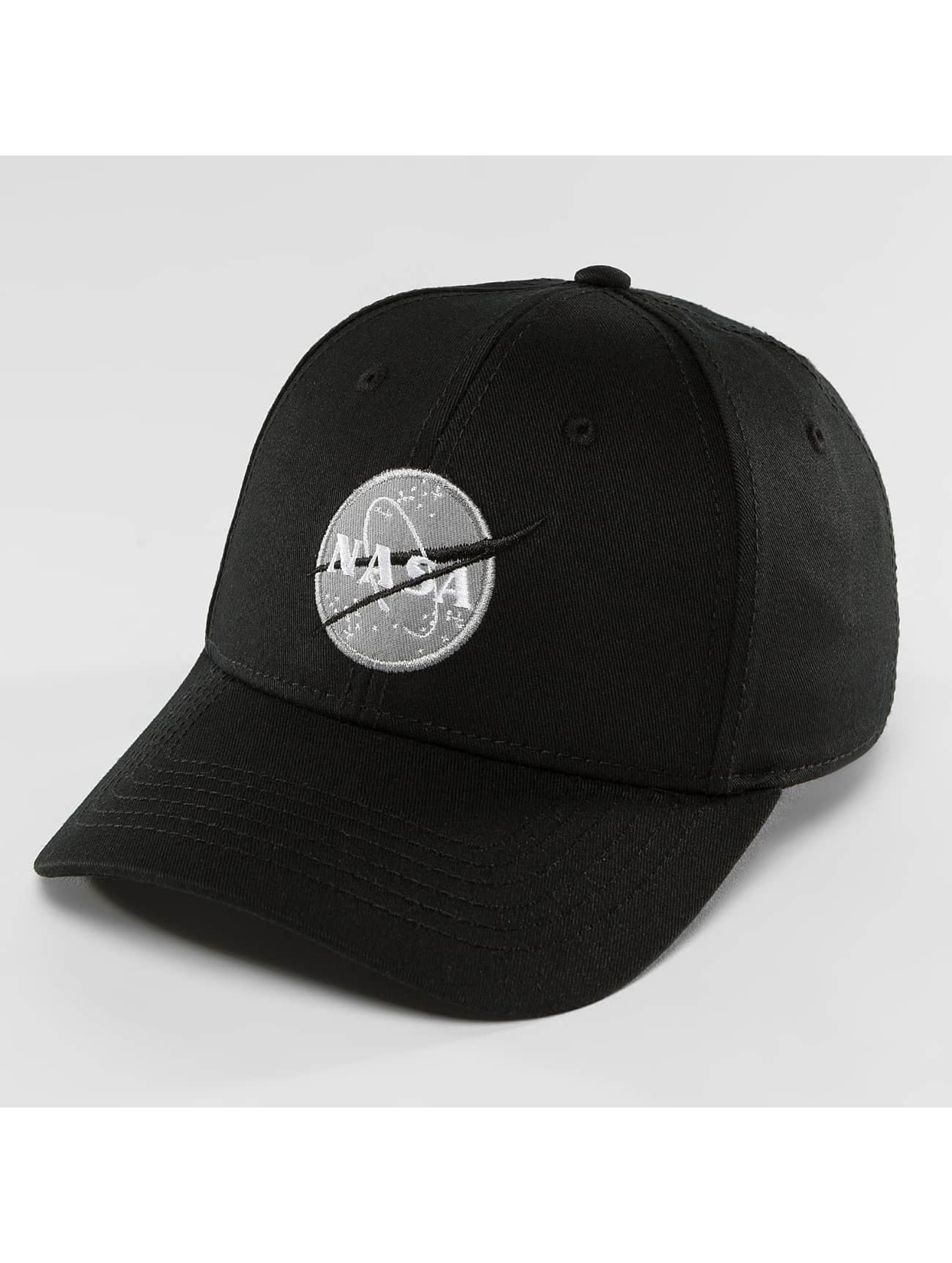 Alpha Industries Snapback Caps NASA czarny
